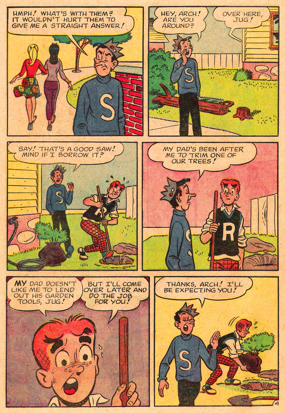 Read online Archie's Girls Betty and Veronica comic -  Issue #85 - 16