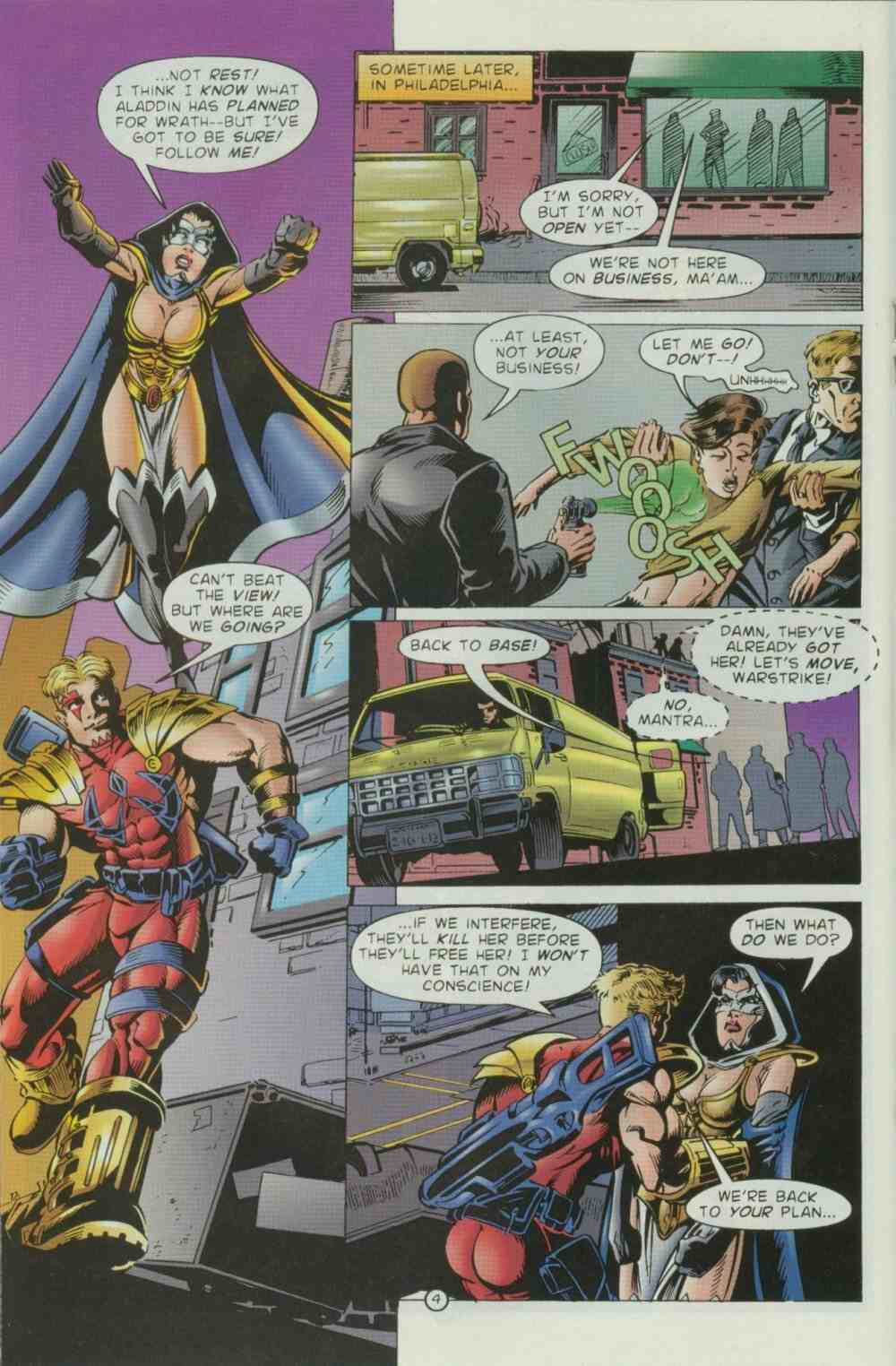 Read online Ultraverse Premiere comic -  Issue #8 - 34