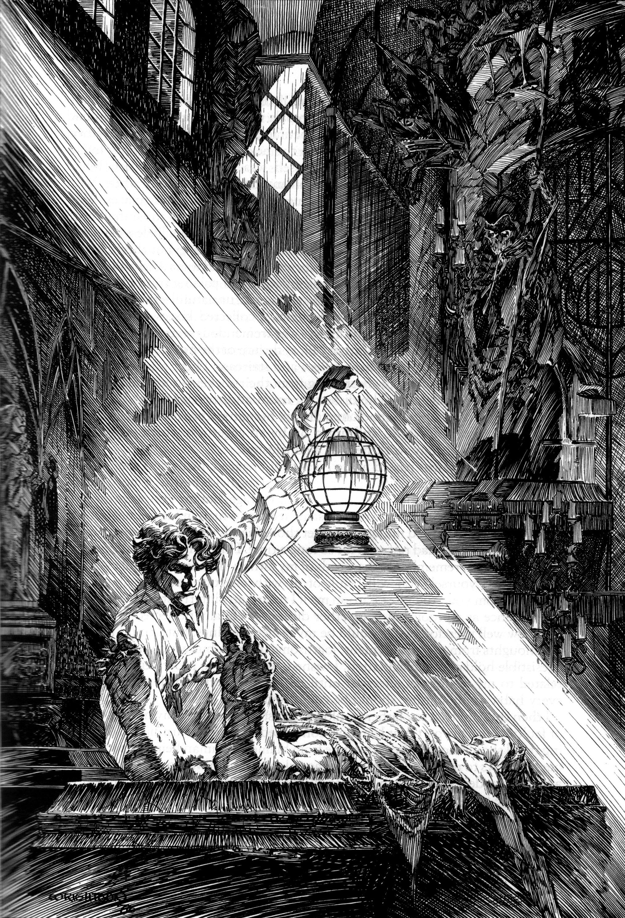 Read online Bernie Wrightson's Frankenstein comic -  Issue # Full - 10
