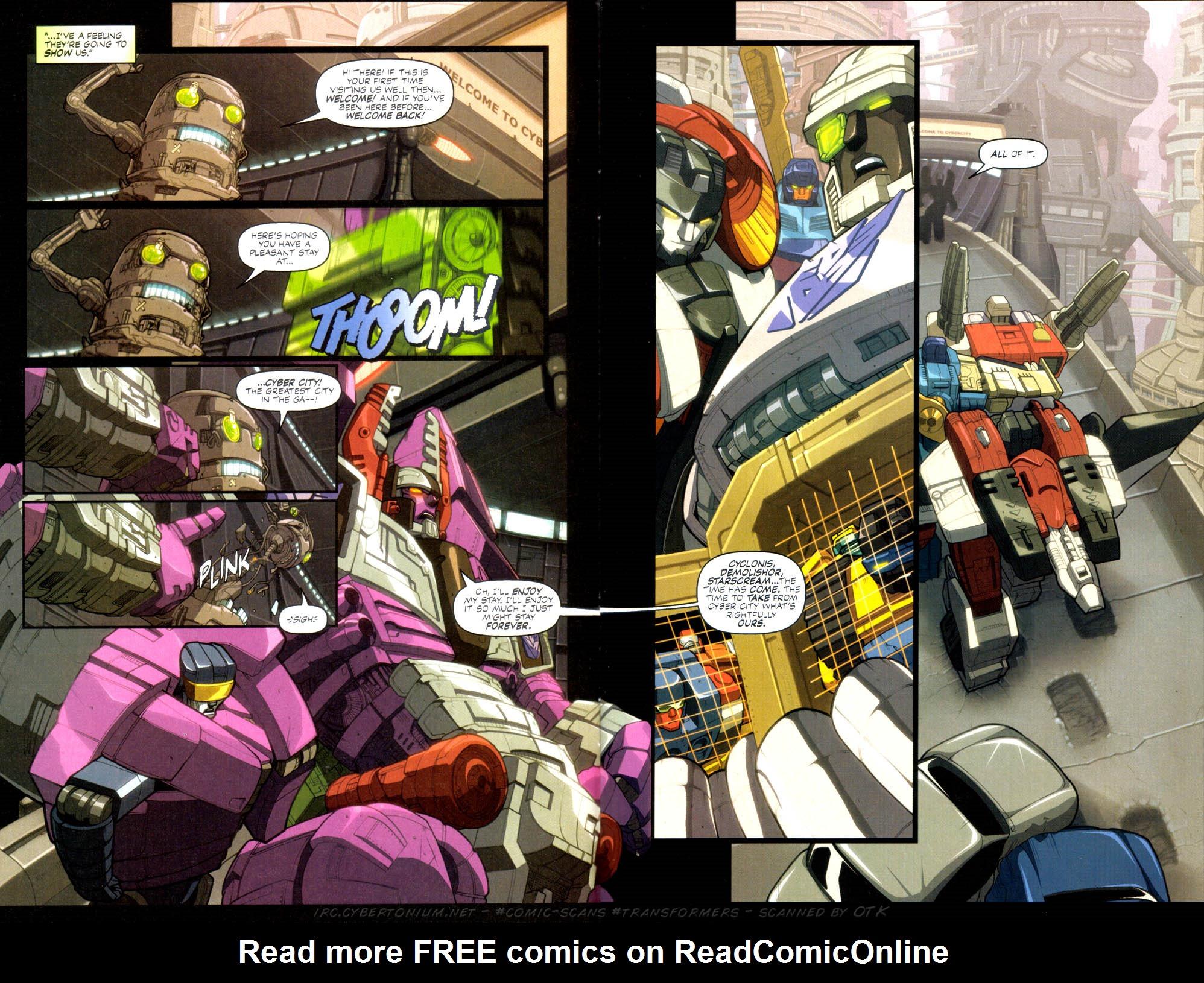Read online Transformers Armada comic -  Issue #2 - 5
