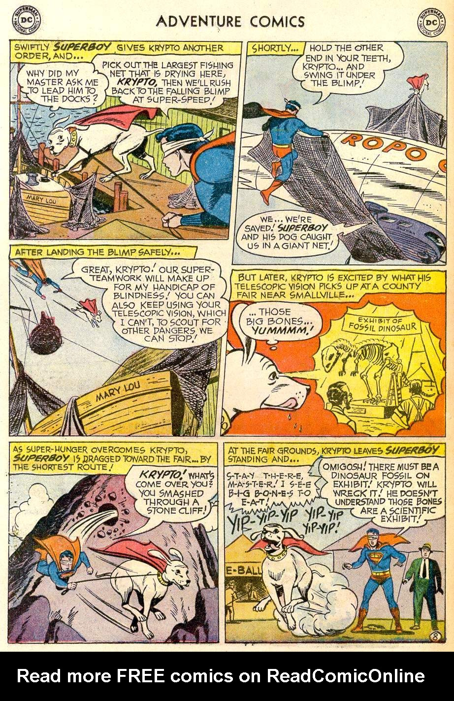 Read online Adventure Comics (1938) comic -  Issue #259 - 10