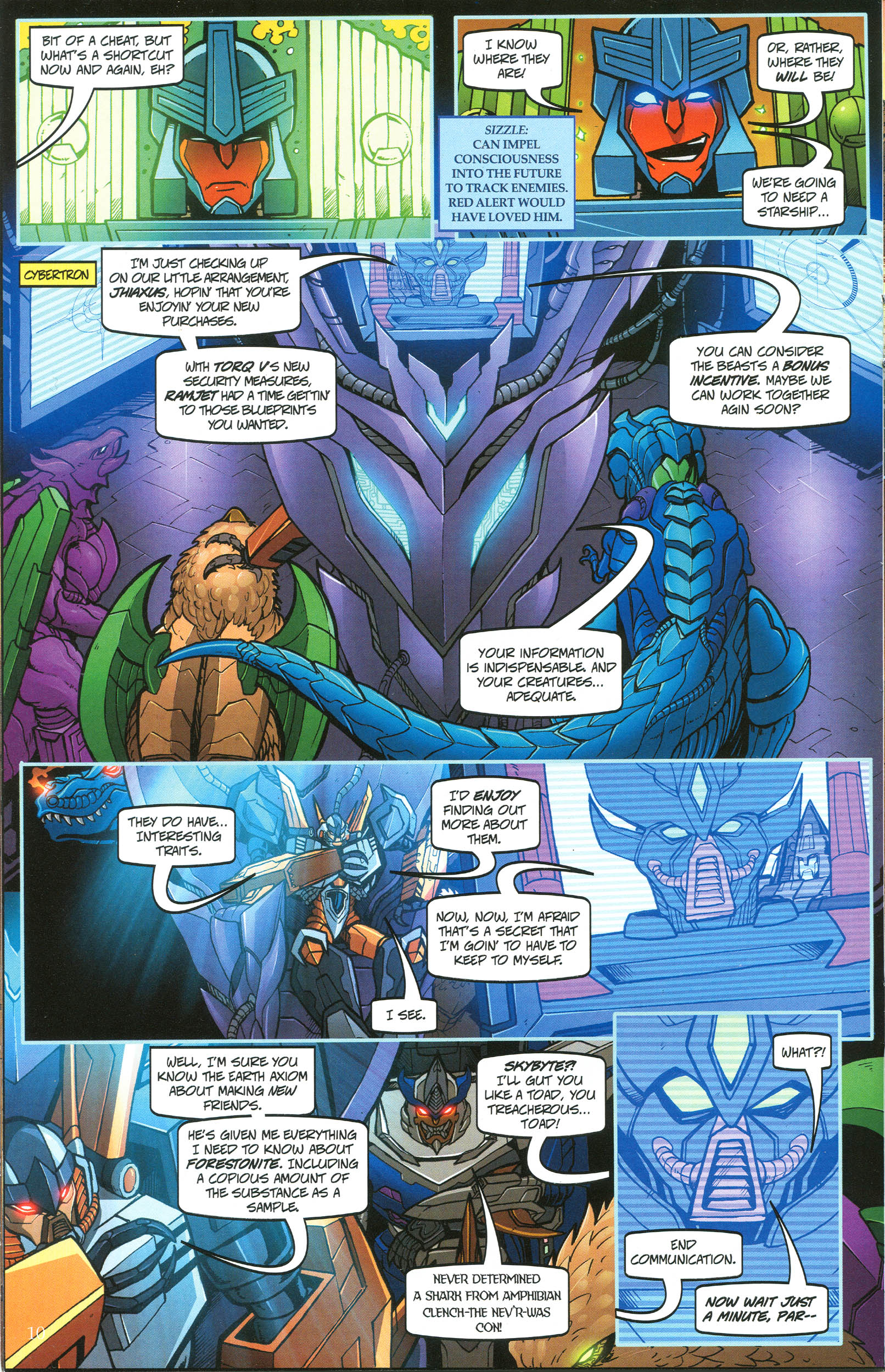 Read online Transformers: Collectors' Club comic -  Issue #44 - 10