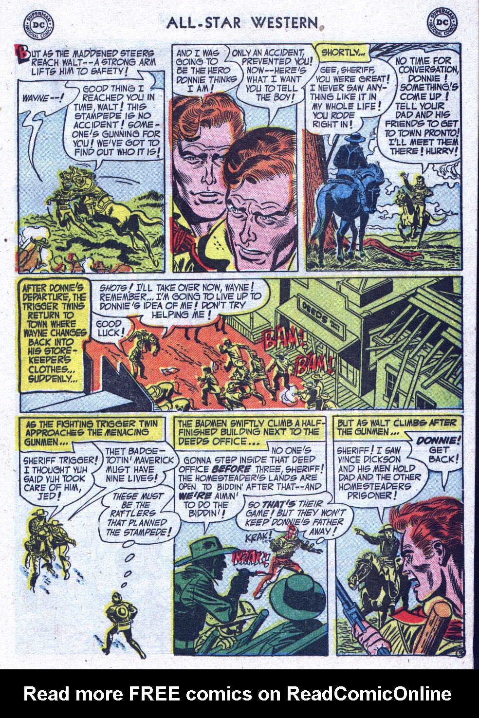 Read online All-Star Western (1951) comic -  Issue #71 - 13