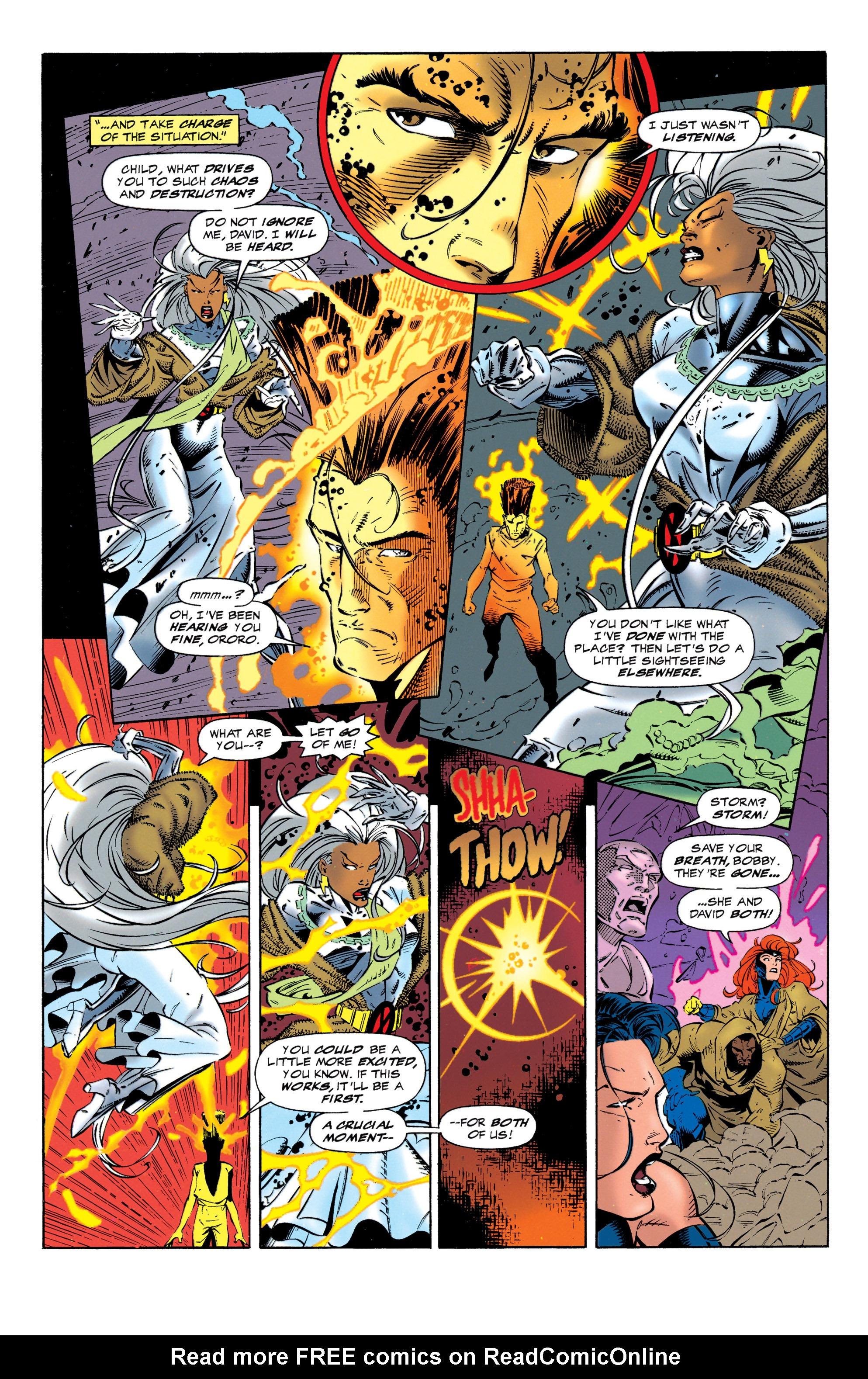 Read online Uncanny X-Men (1963) comic -  Issue #320 - 11