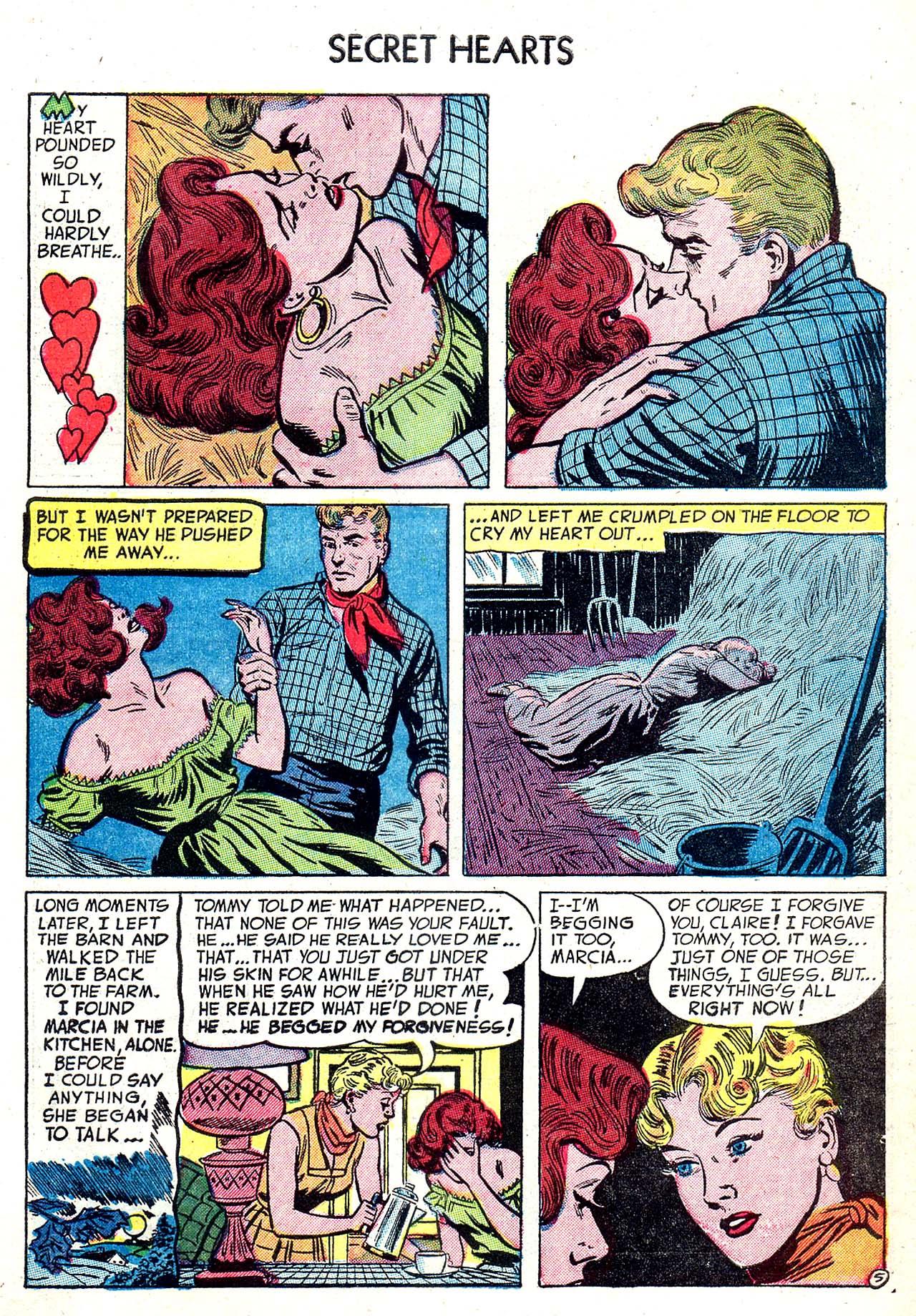 Read online Secret Hearts comic -  Issue #20 - 7