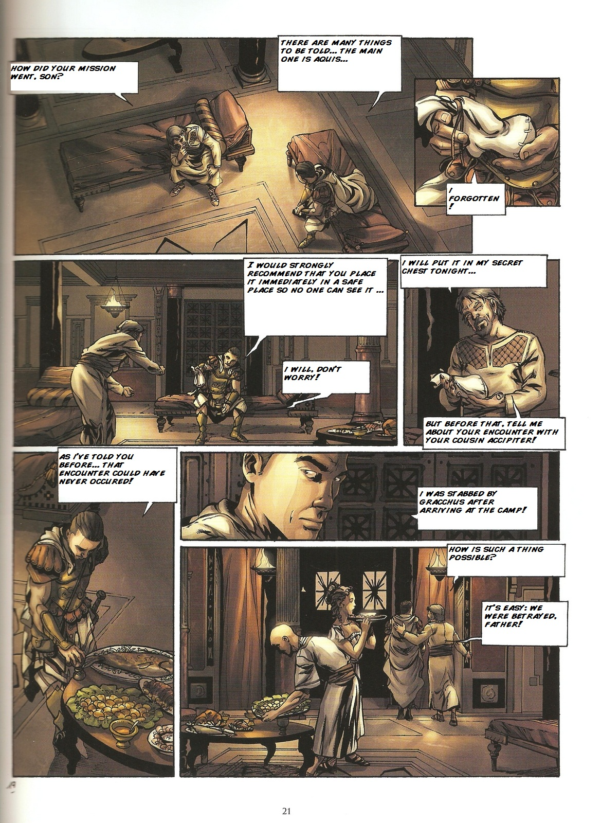 Read online Assassin's Creed (2009) comic -  Issue #2 - 21