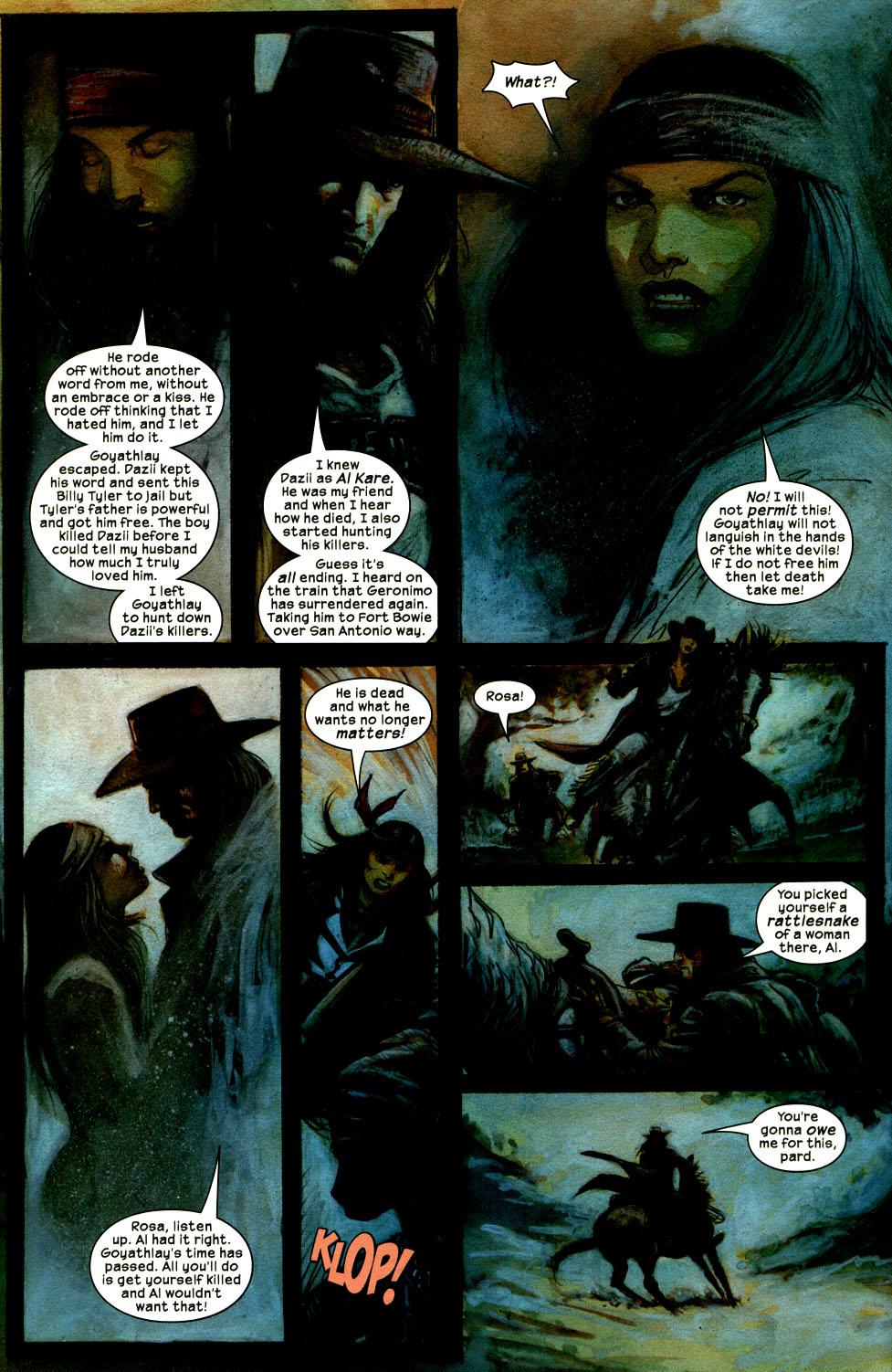 Read online Apache Skies comic -  Issue #2 - 20