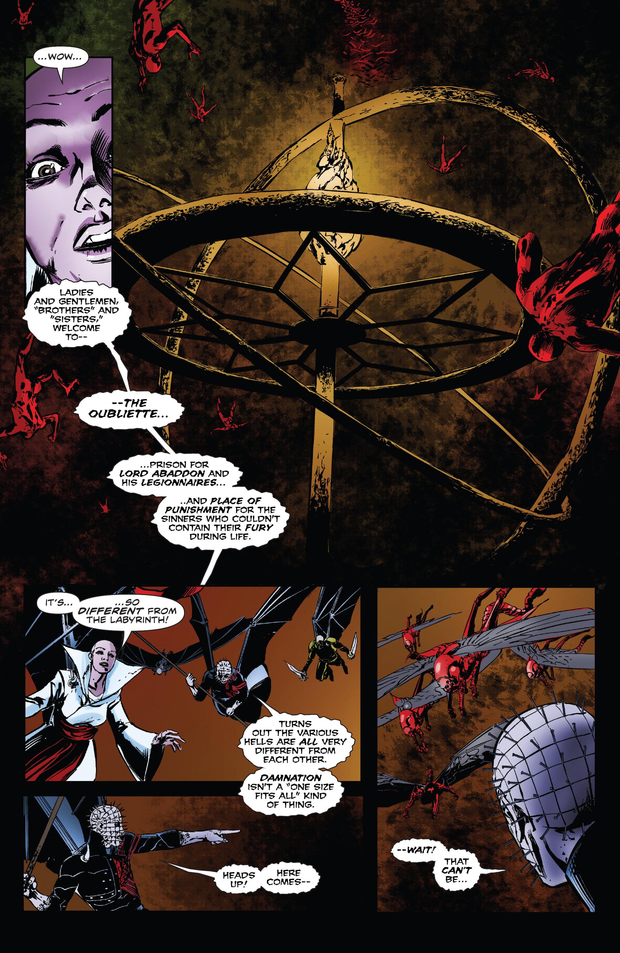 Read online Clive Barker's Hellraiser: The Dark Watch comic -  Issue # TPB 3 - 67