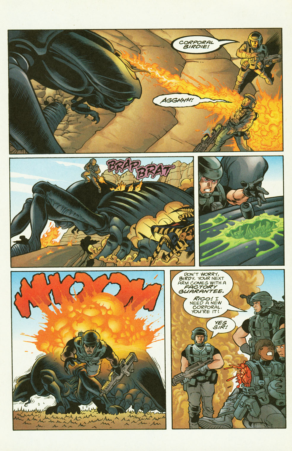 Read online Starship Troopers comic -  Issue #2 - 7