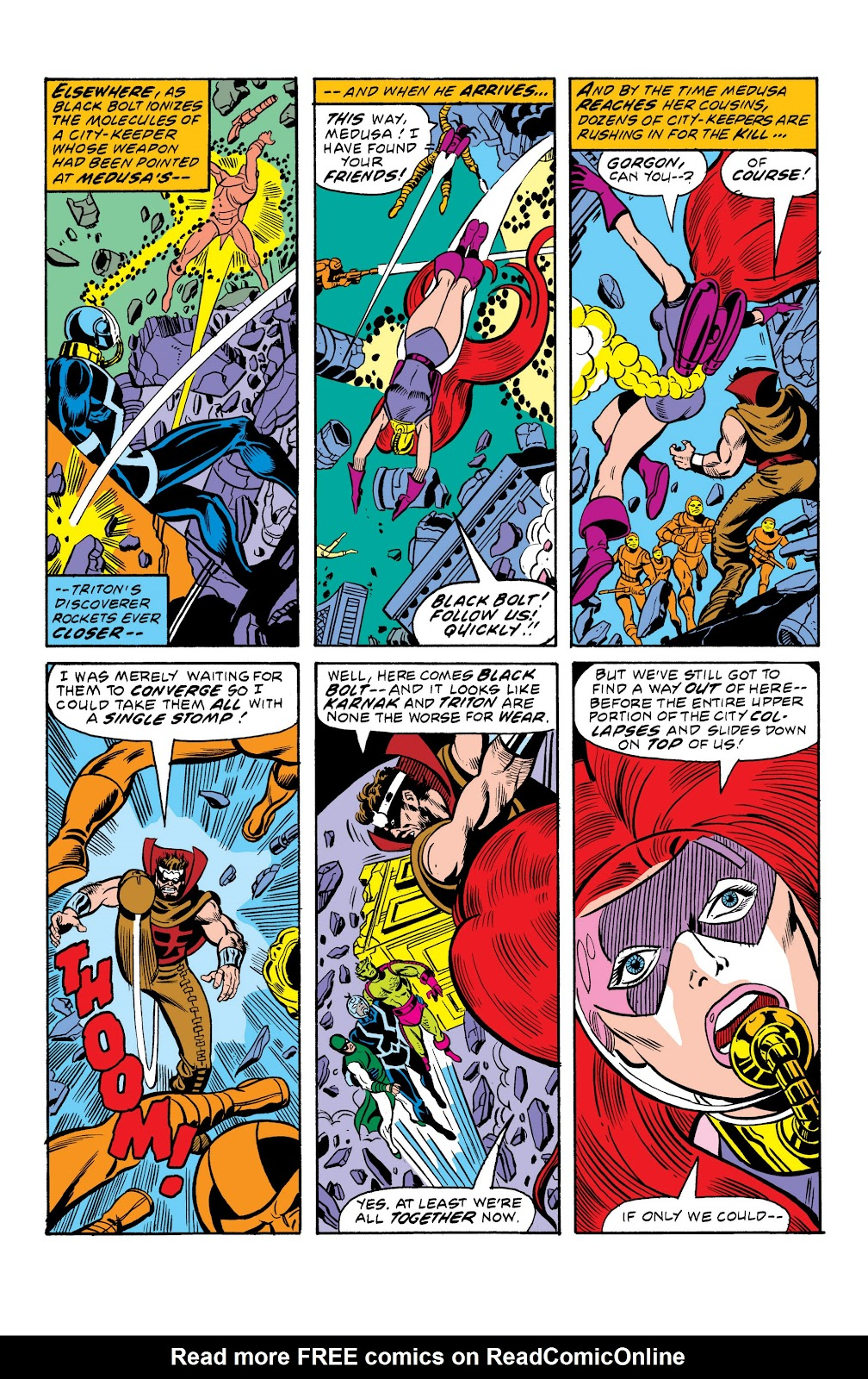 Read online Marvel Masterworks: The Inhumans comic -  Issue # TPB 2 (Part 2) - 52