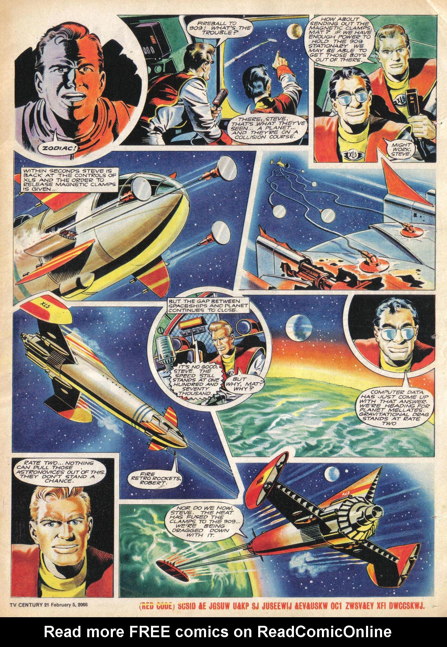 Read online TV Century 21 (TV 21) comic -  Issue #55 - 16