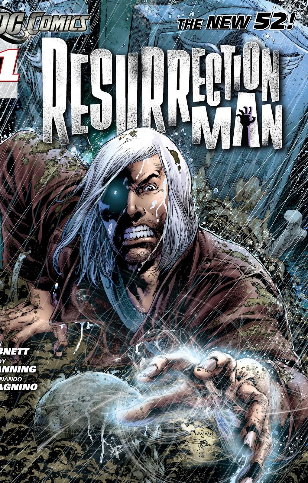 Resurrection Man (2011) 1 Page 1