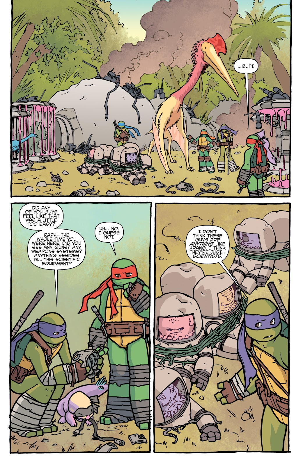 Read online Teenage Mutant Ninja Turtles: The IDW Collection comic -  Issue # TPB 5 (Part 1) - 23
