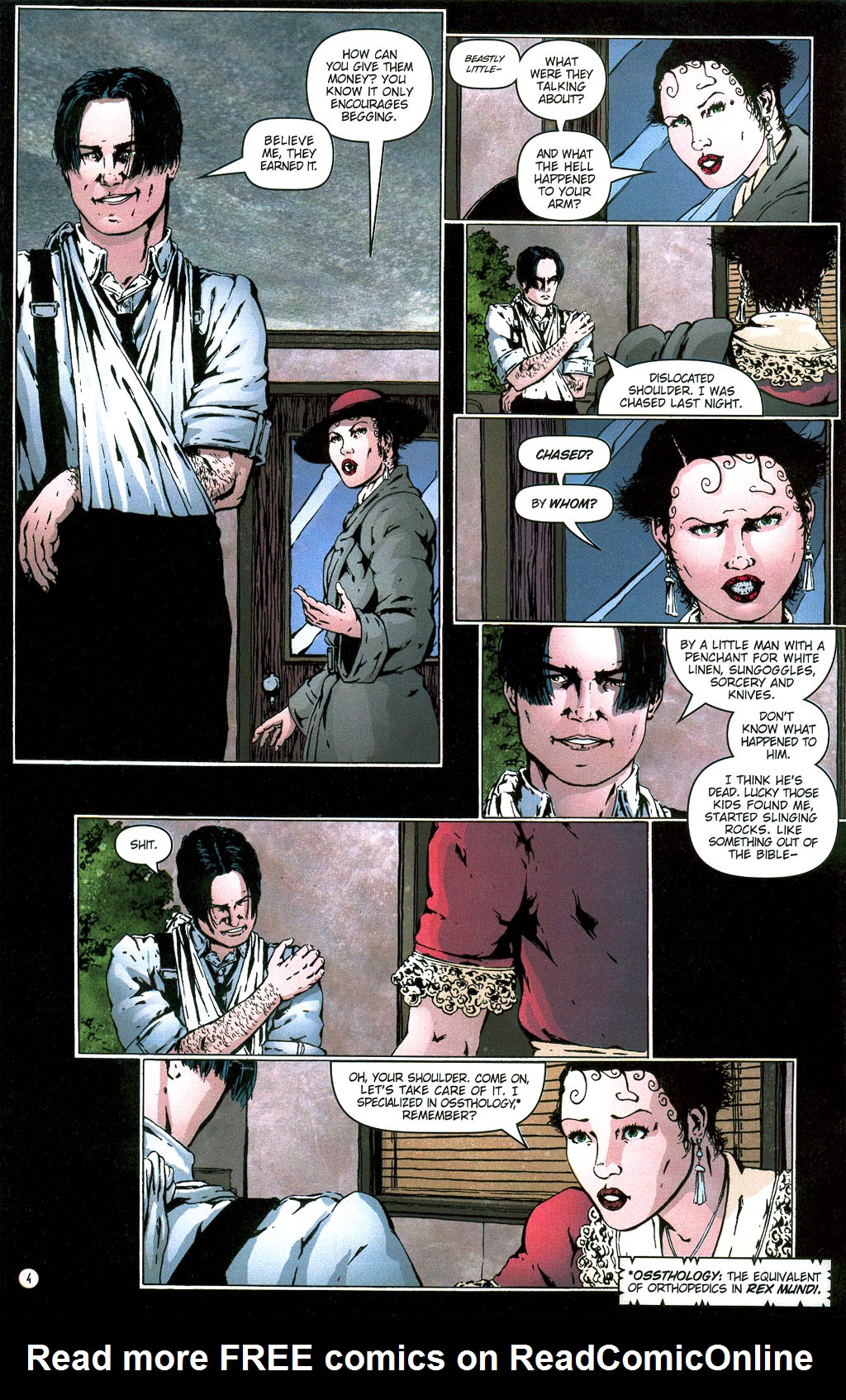 Read online Rex Mundi comic -  Issue #6 - 7
