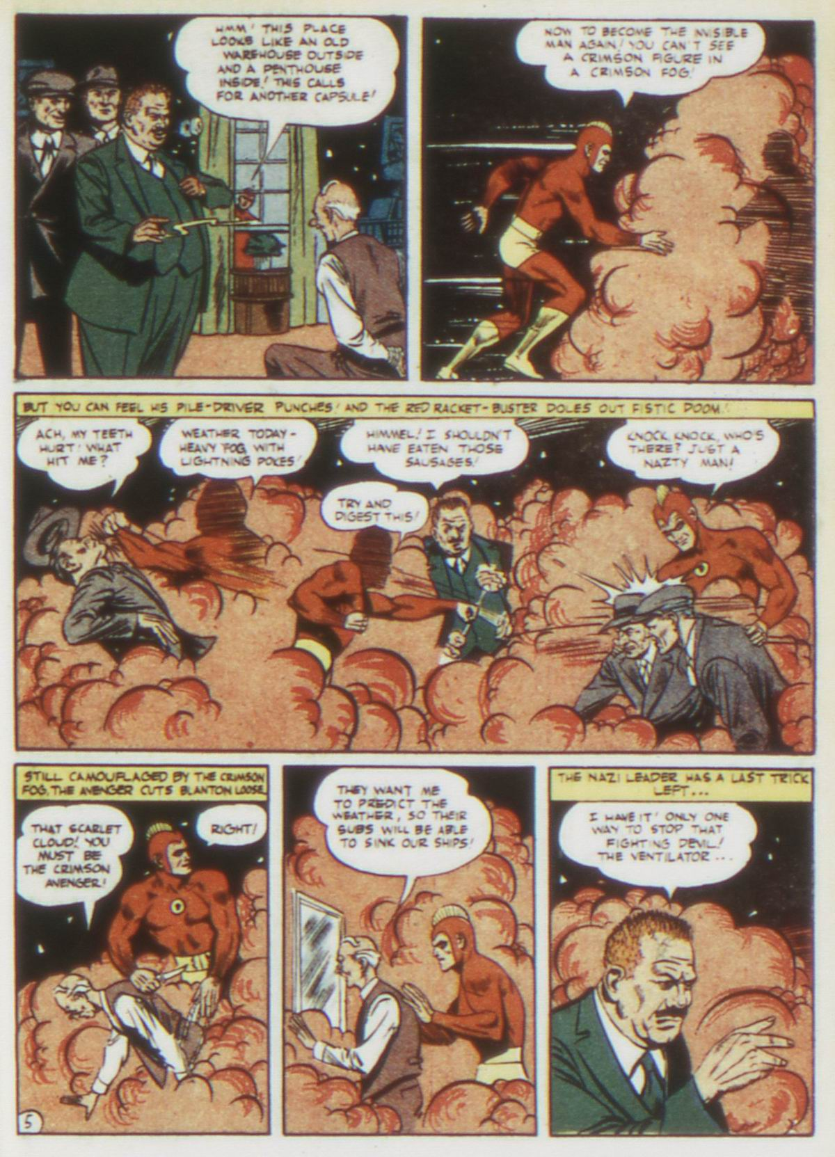 Read online Detective Comics (1937) comic -  Issue #75 - 35