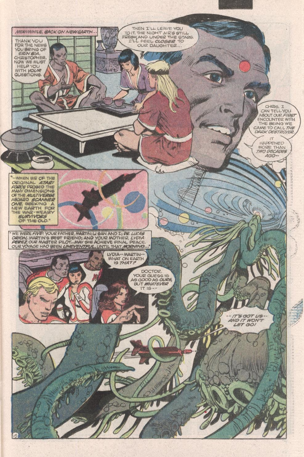 Read online Atari Force (1984) comic -  Issue #9 - 17
