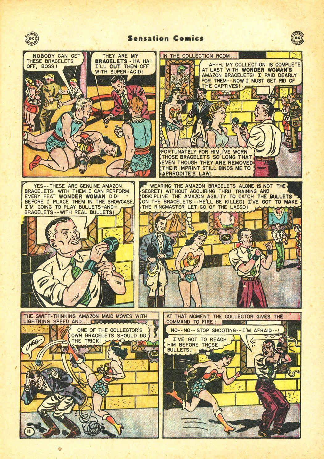 Read online Sensation (Mystery) Comics comic -  Issue #86 - 13