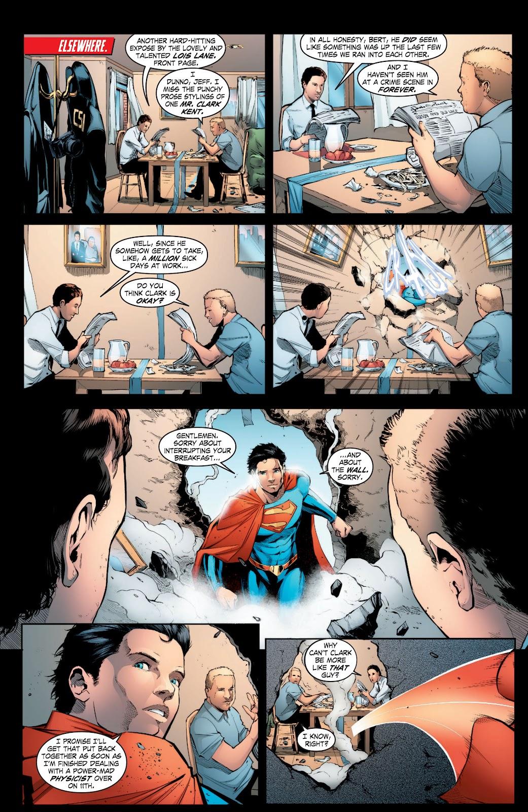 Read online Smallville Season 11 [II] comic -  Issue # TPB 3 - 11