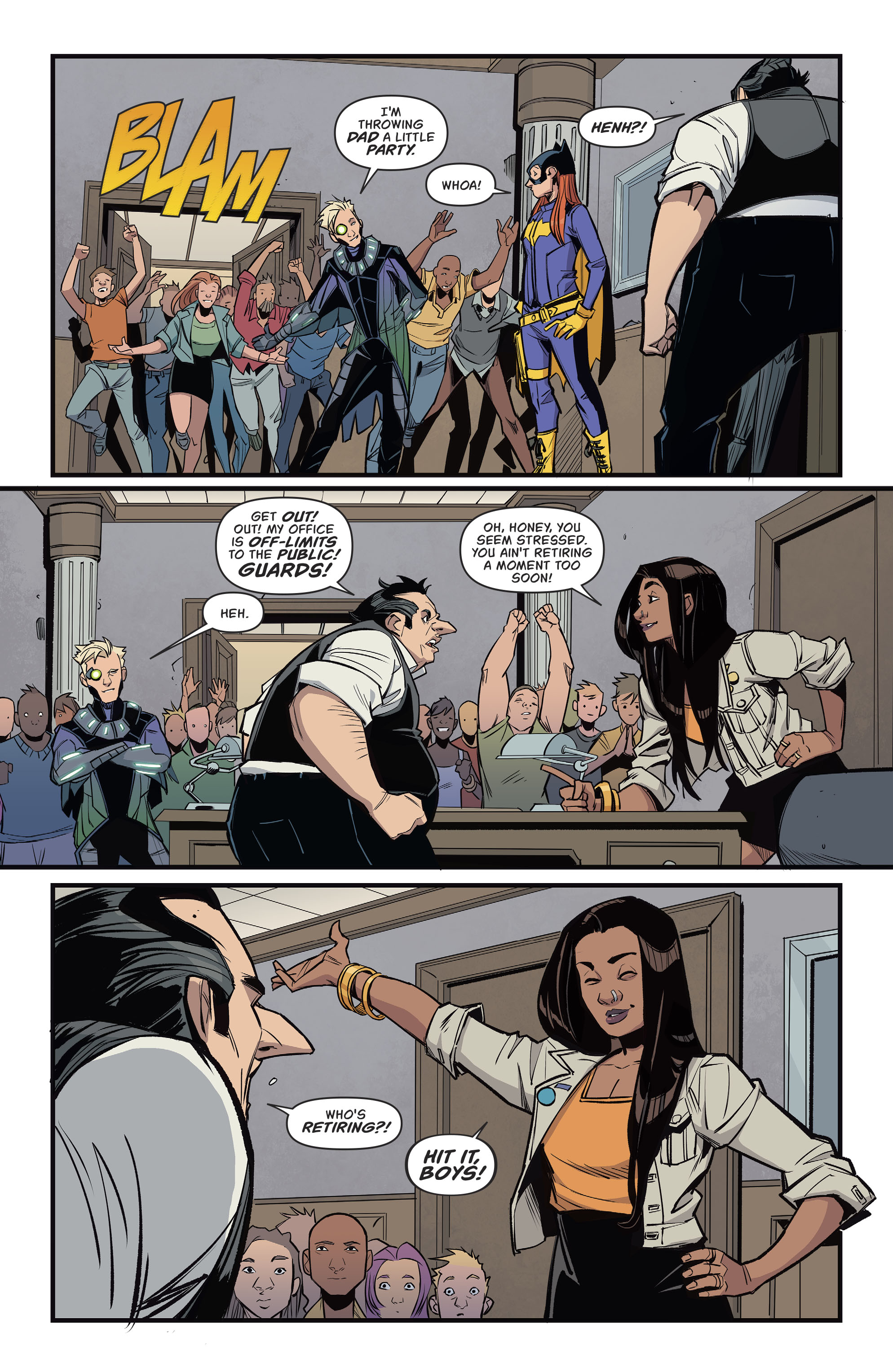 Read online Batgirl (2016) comic -  Issue #11 - 5