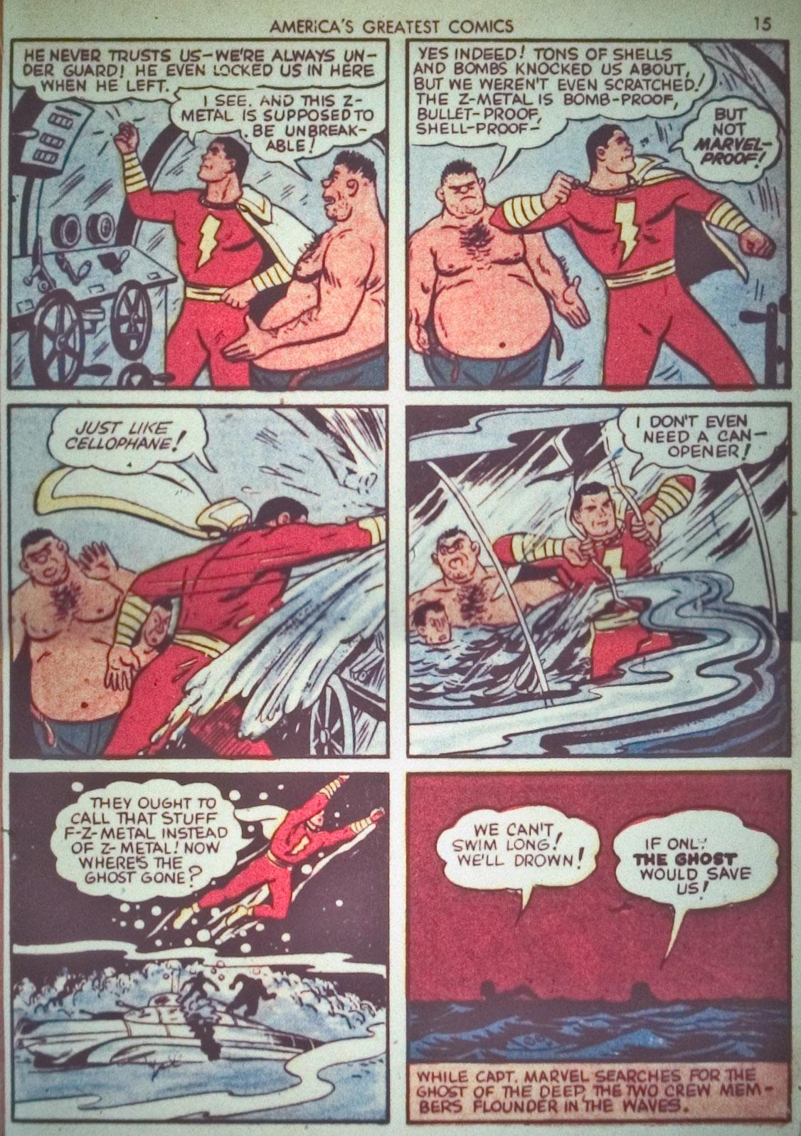 Read online America's Greatest Comics comic -  Issue #1 - 18