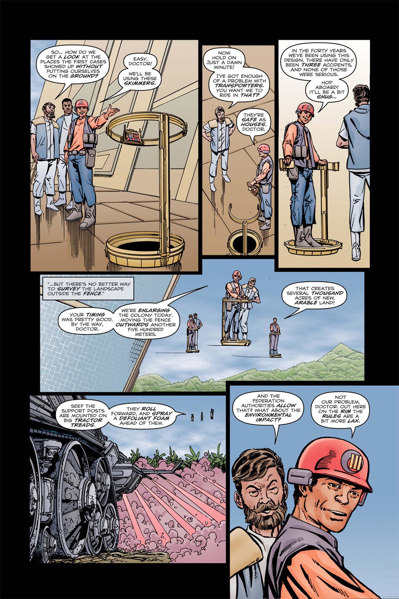 Read online Star Trek: Leonard McCoy, Frontier Doctor comic -  Issue #1 - 13