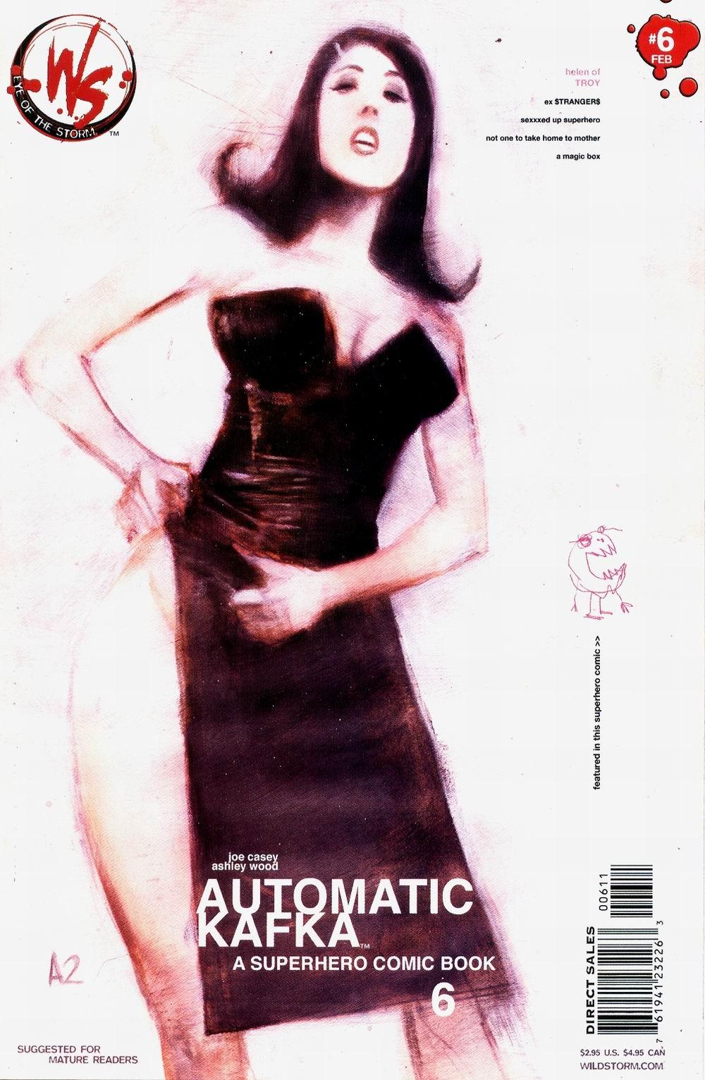 Read online Automatic Kafka comic -  Issue #6 - 2