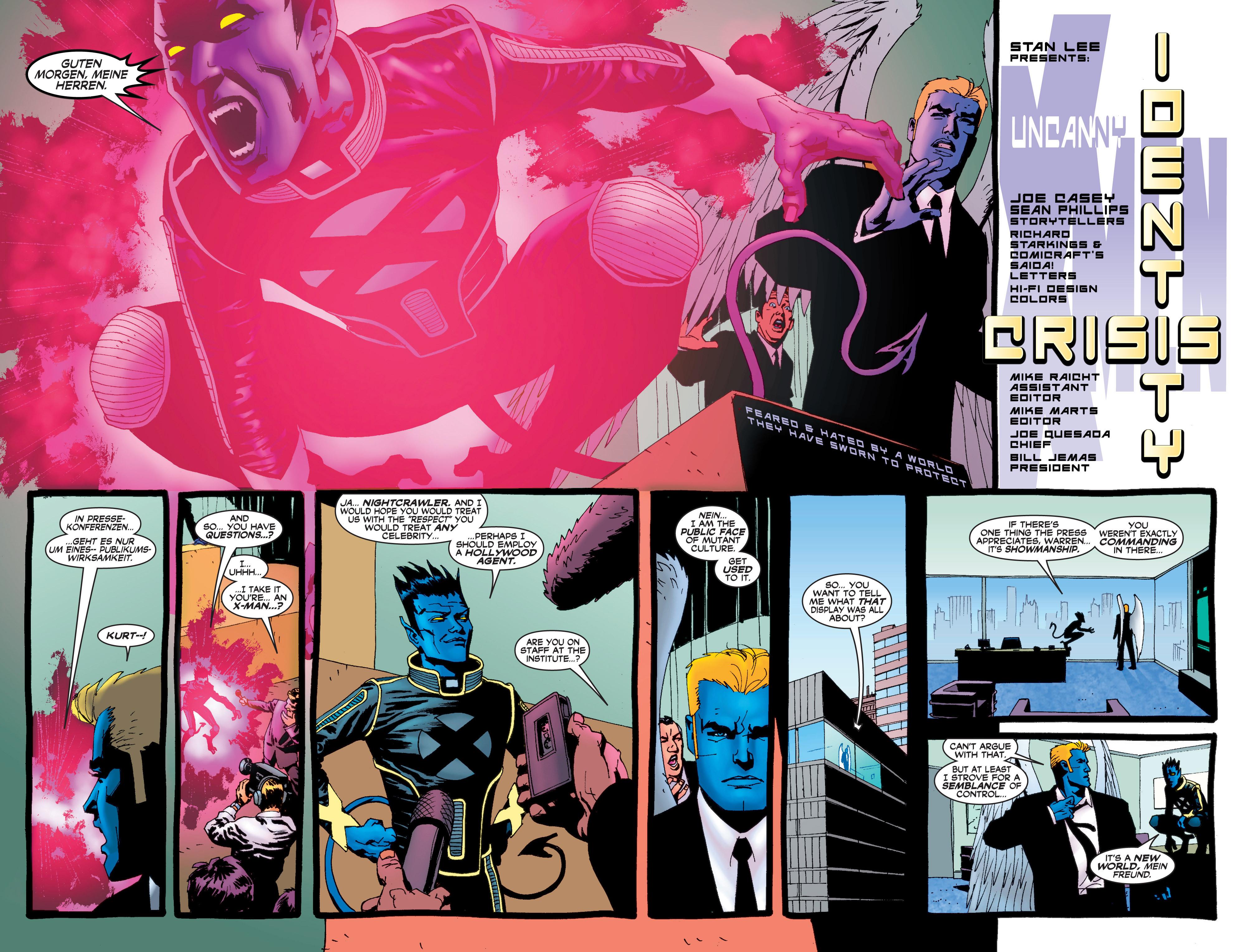 Read online Uncanny X-Men (1963) comic -  Issue #408 - 3