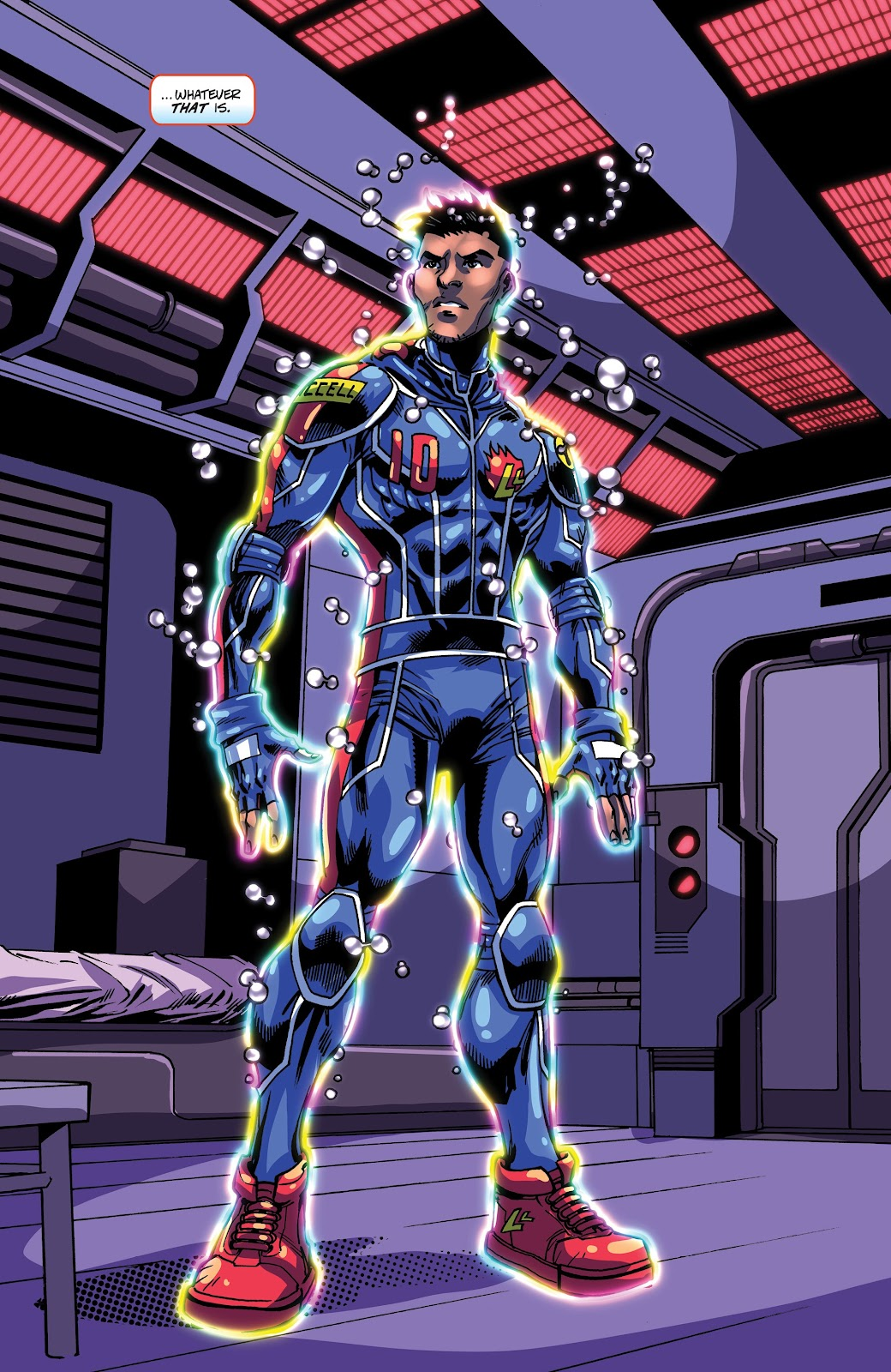 Read online Accell comic -  Issue #17 - 4