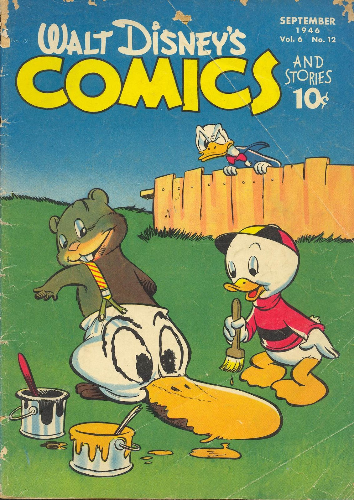Walt Disneys Comics and Stories 72 Page 1