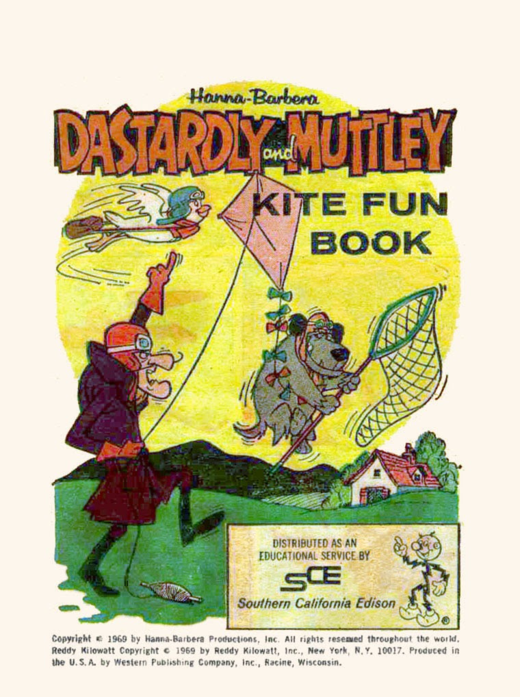 Dastardly and Muttley Kite Fun Book Full Page 1