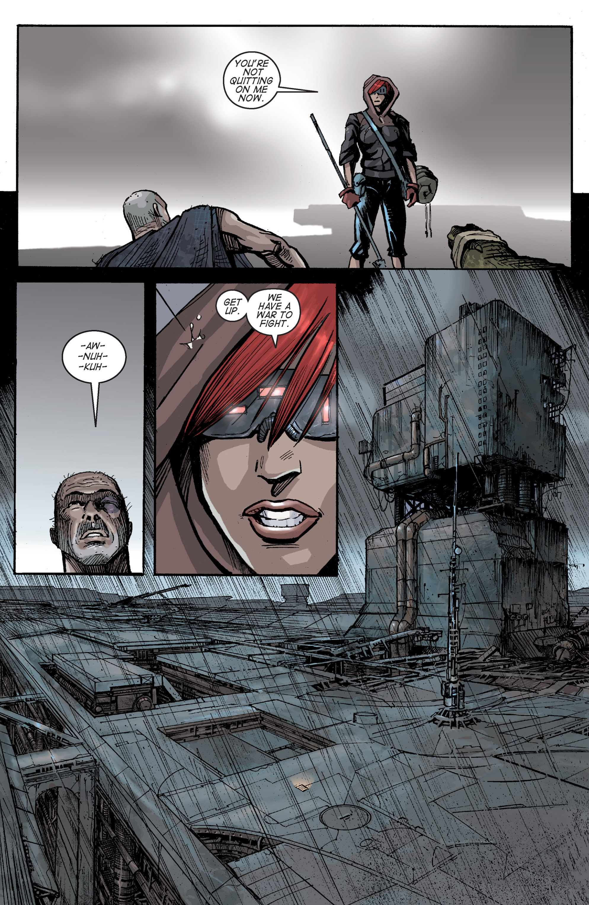 Read online Planetoid comic -  Issue # TPB - 135