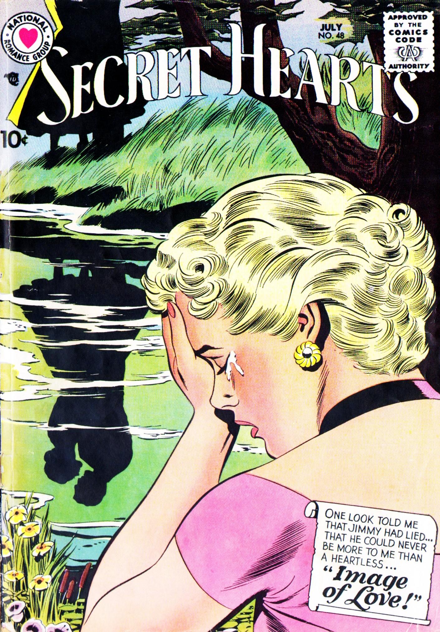 Read online Secret Hearts comic -  Issue #48 - 1