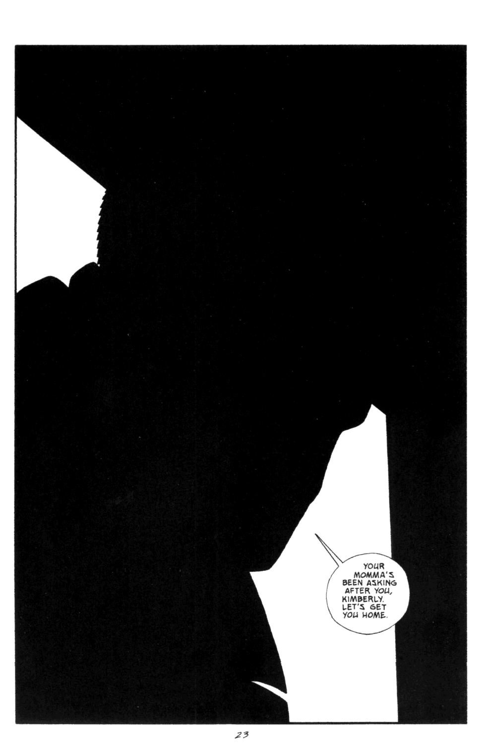 Read online Sin City: Silent Night comic -  Issue # Full - 24