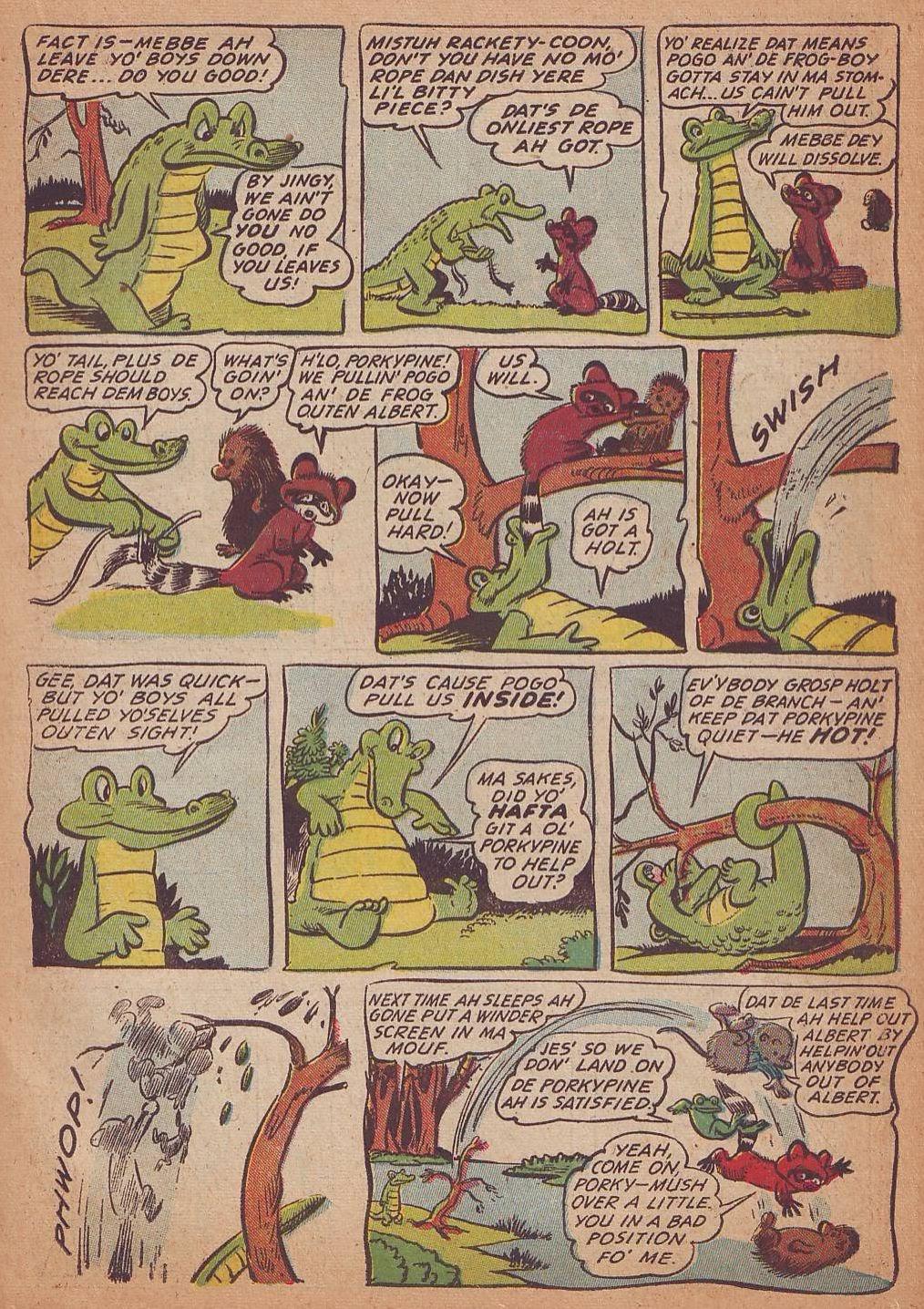 Read online Animal Comics comic -  Issue #16 - 23