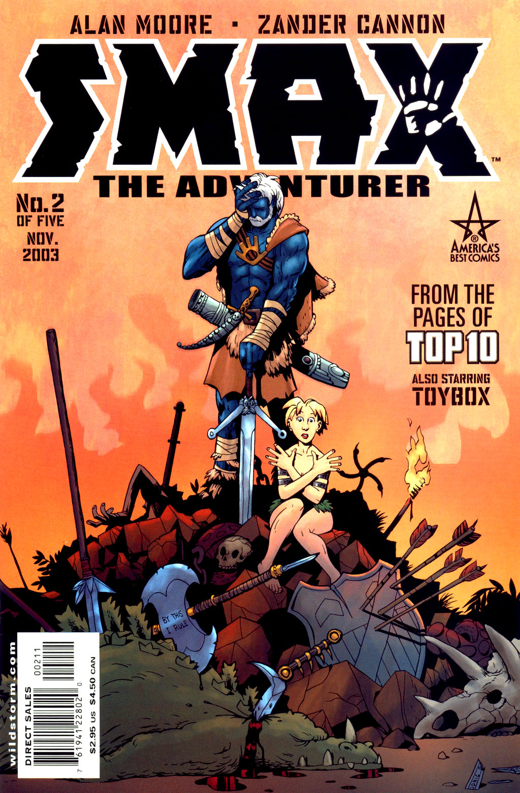 Read online Smax comic -  Issue #2 - 2