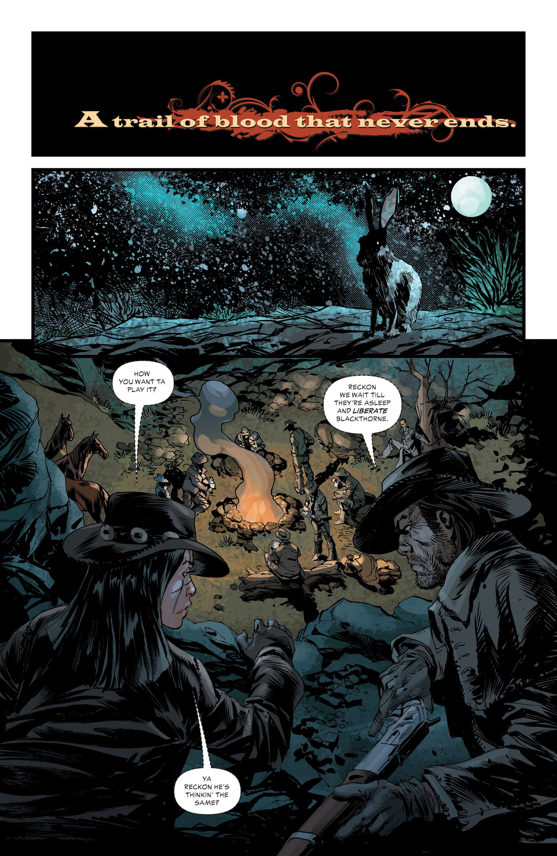 Read online All-Star Western (2011) comic -  Issue #33 - 10