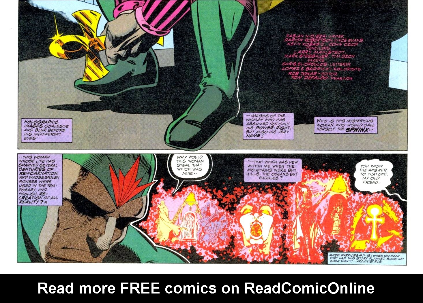 The New Warriors Issue #47 #51 - English 4