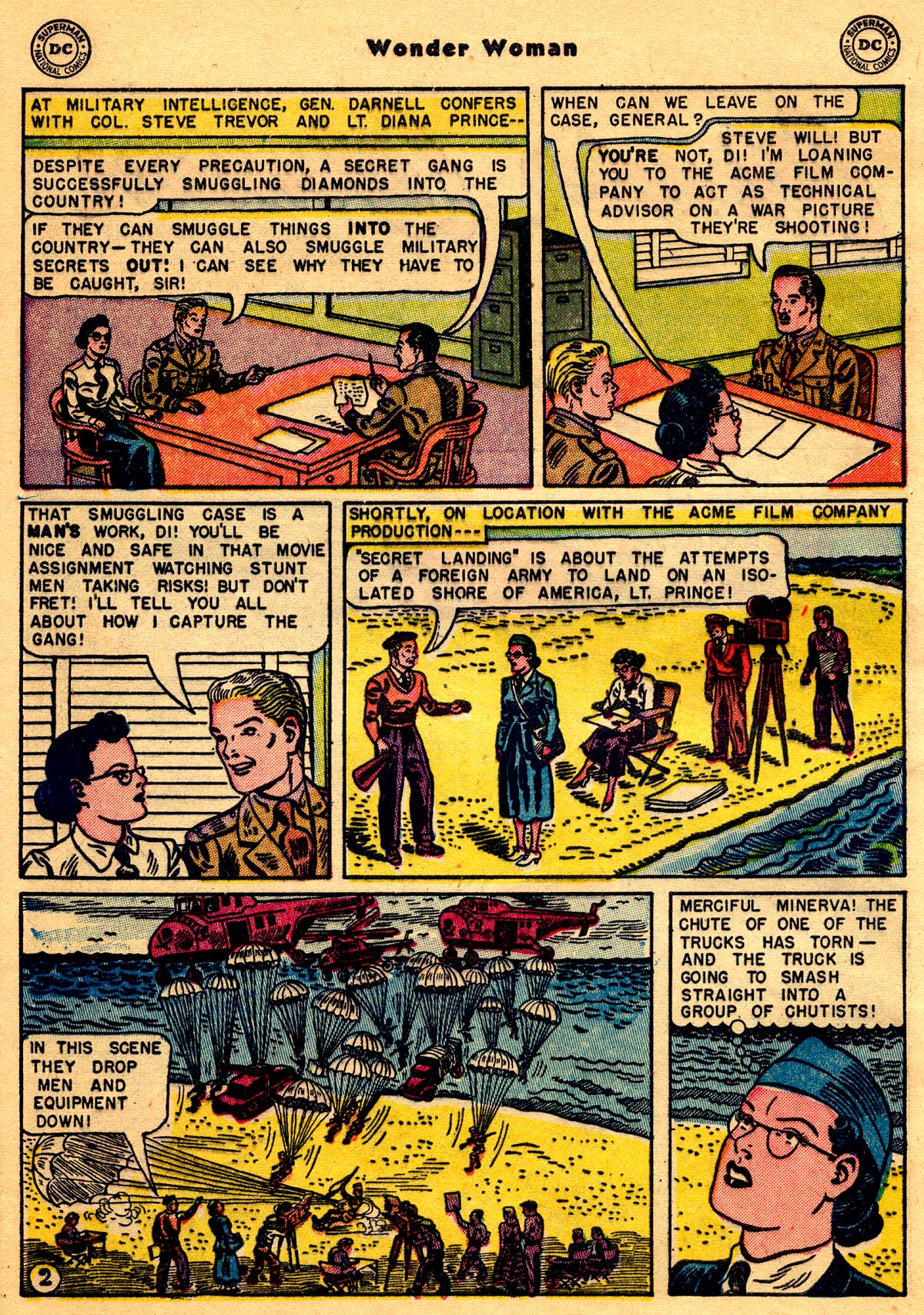 Read online Wonder Woman (1942) comic -  Issue #68 - 28