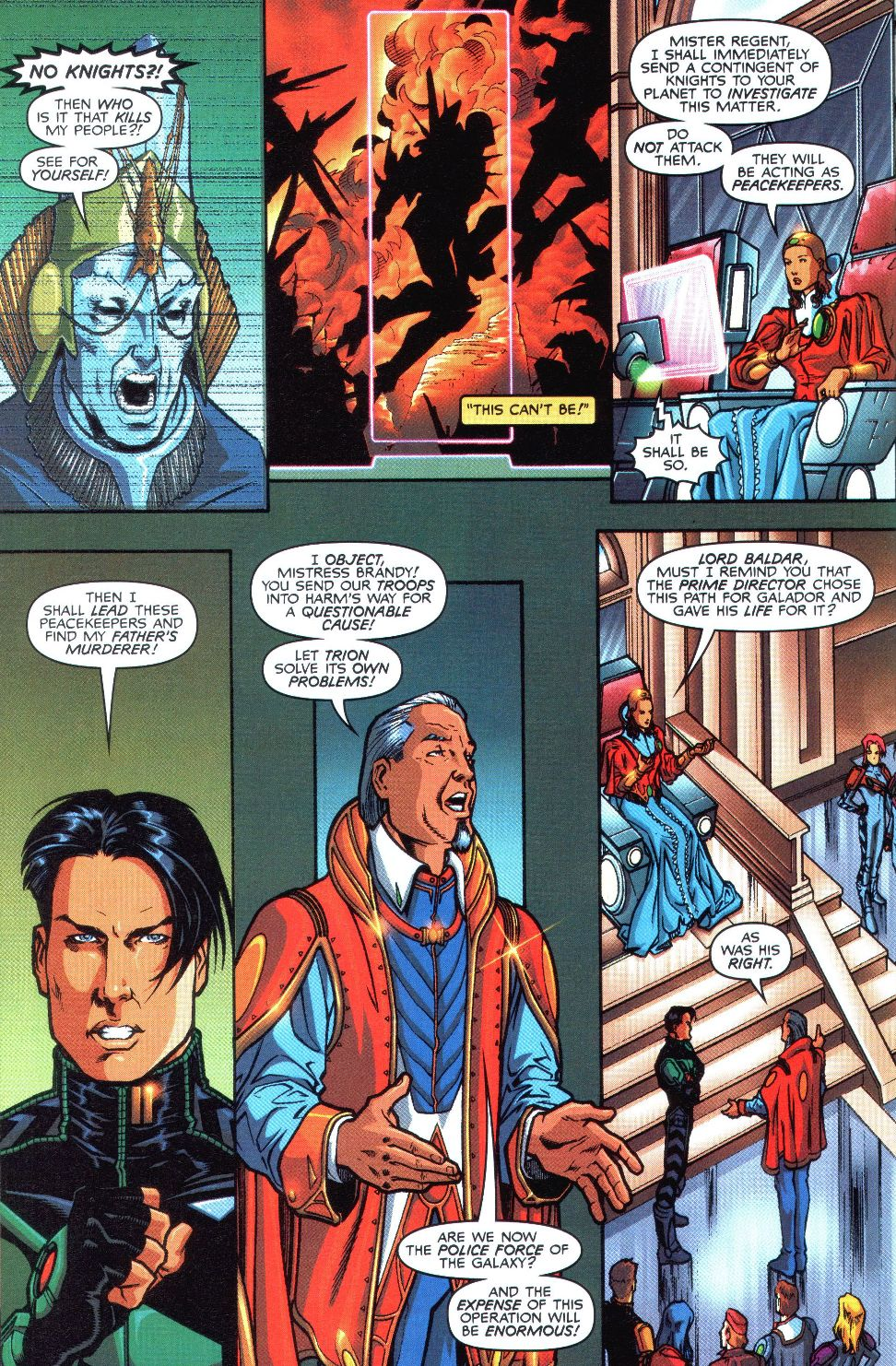 Read online Spaceknights (2000) comic -  Issue #1 - 19