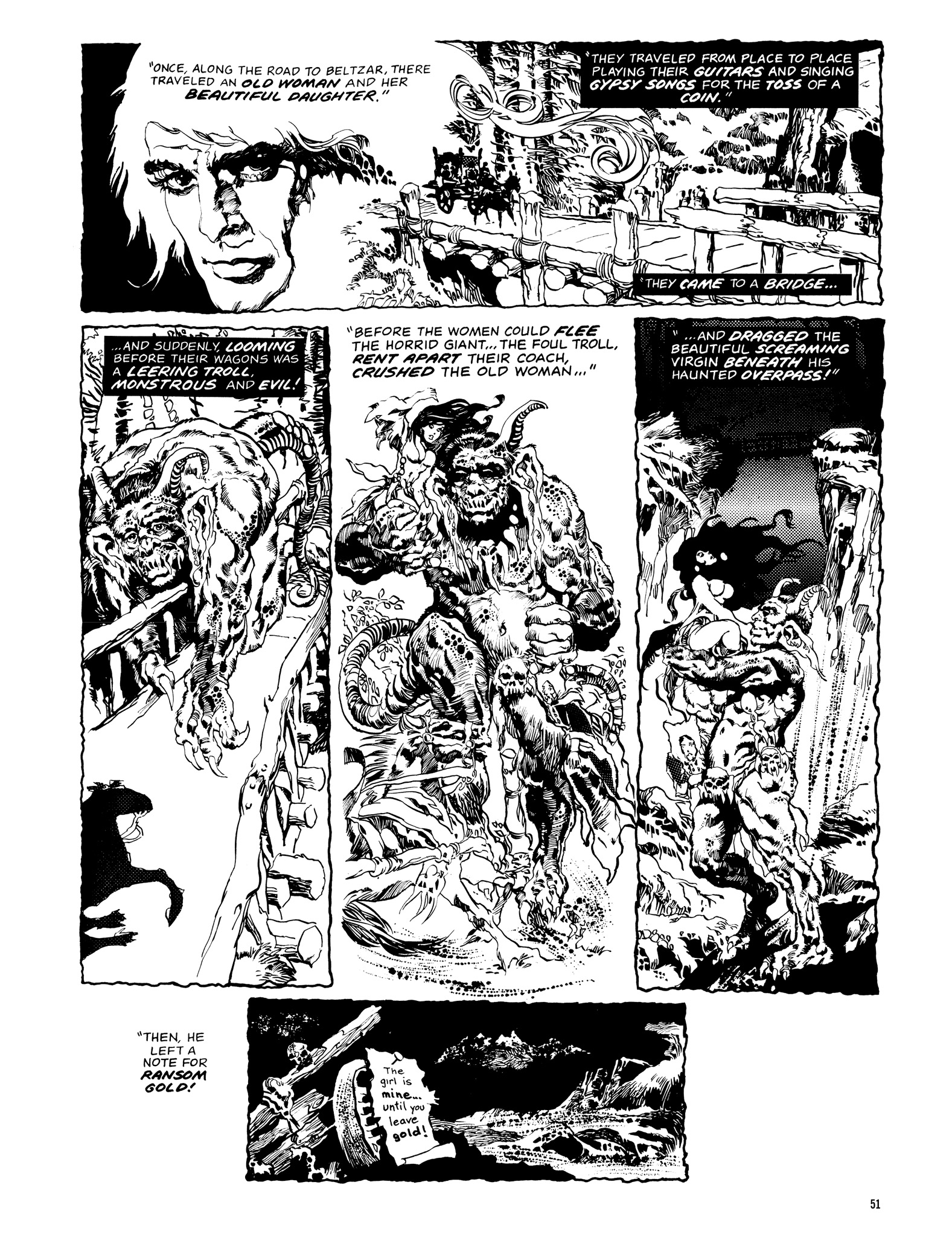 Read online Eerie Archives comic -  Issue # TPB 14 - 52