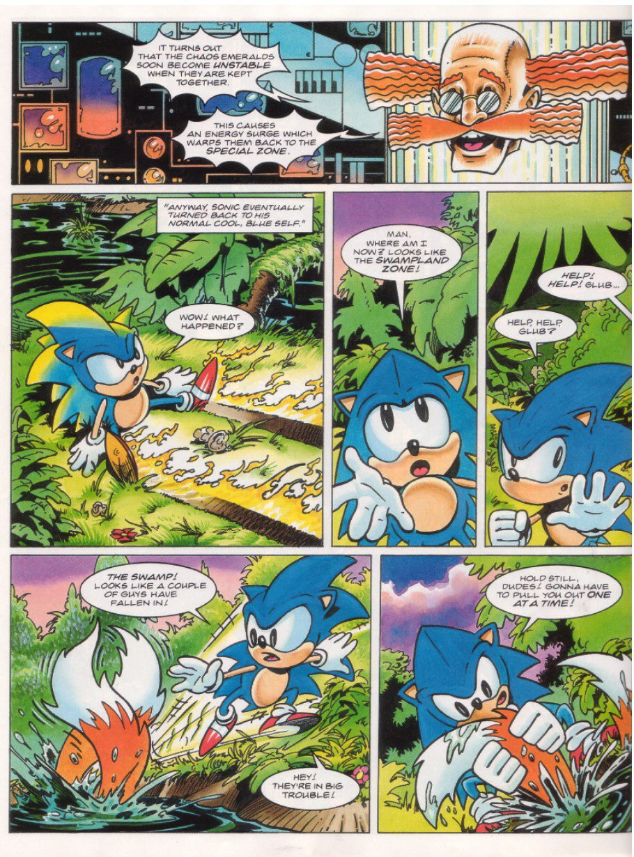 Read online Sonic the Comic comic -  Issue #27 - 21