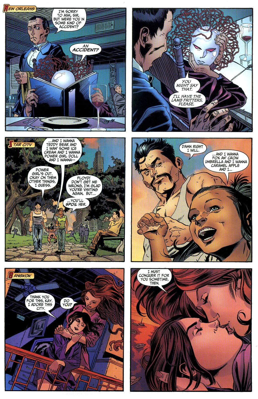 Read online Secret Six (2006) comic -  Issue #1 - 18