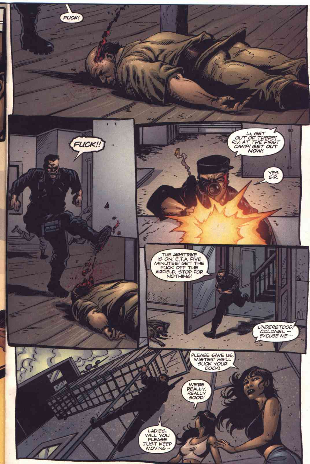 Read online Fury comic -  Issue #5 - 20