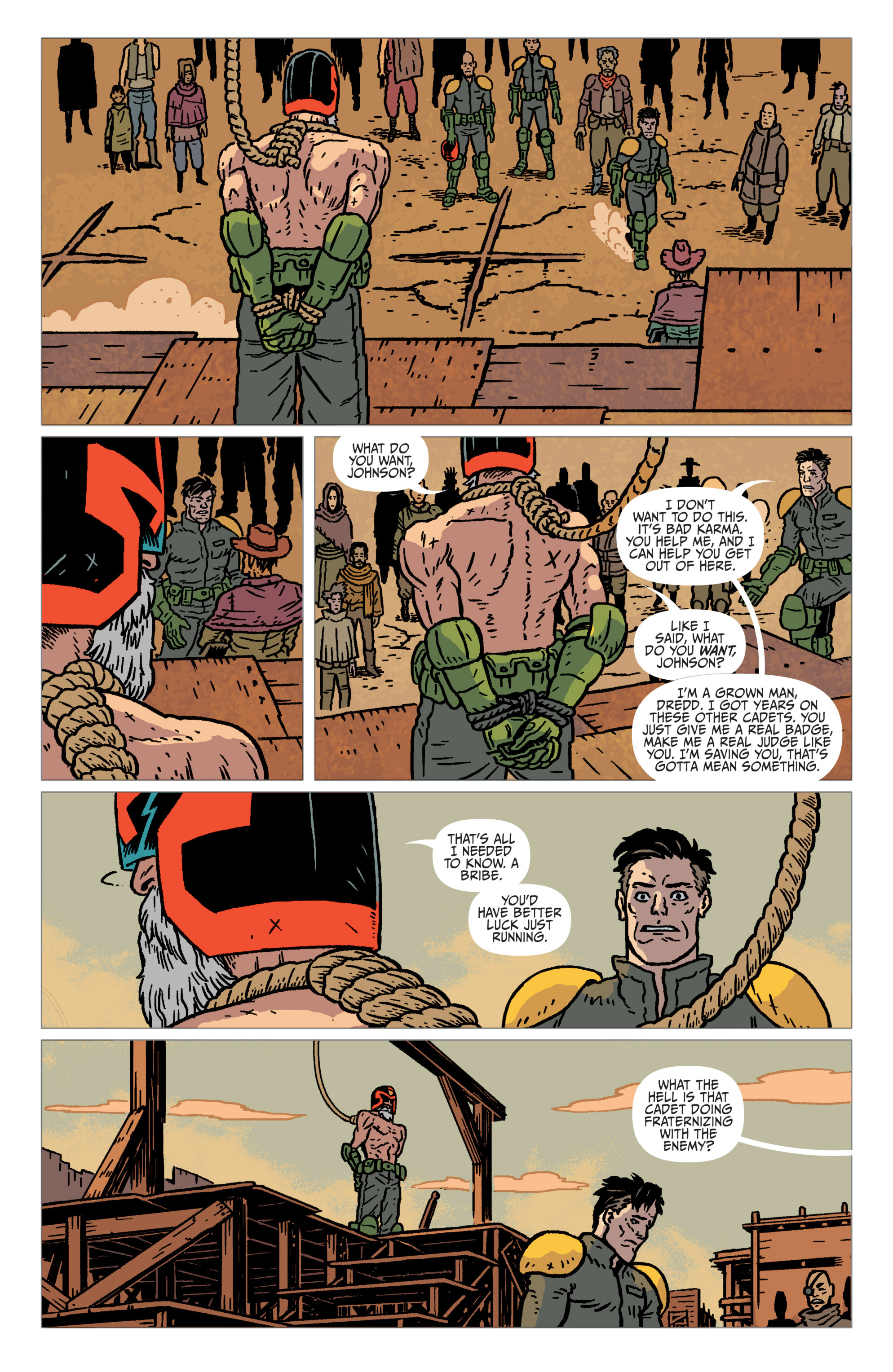 Read online Judge Dredd: The Blessed Earth comic -  Issue #1 - 16