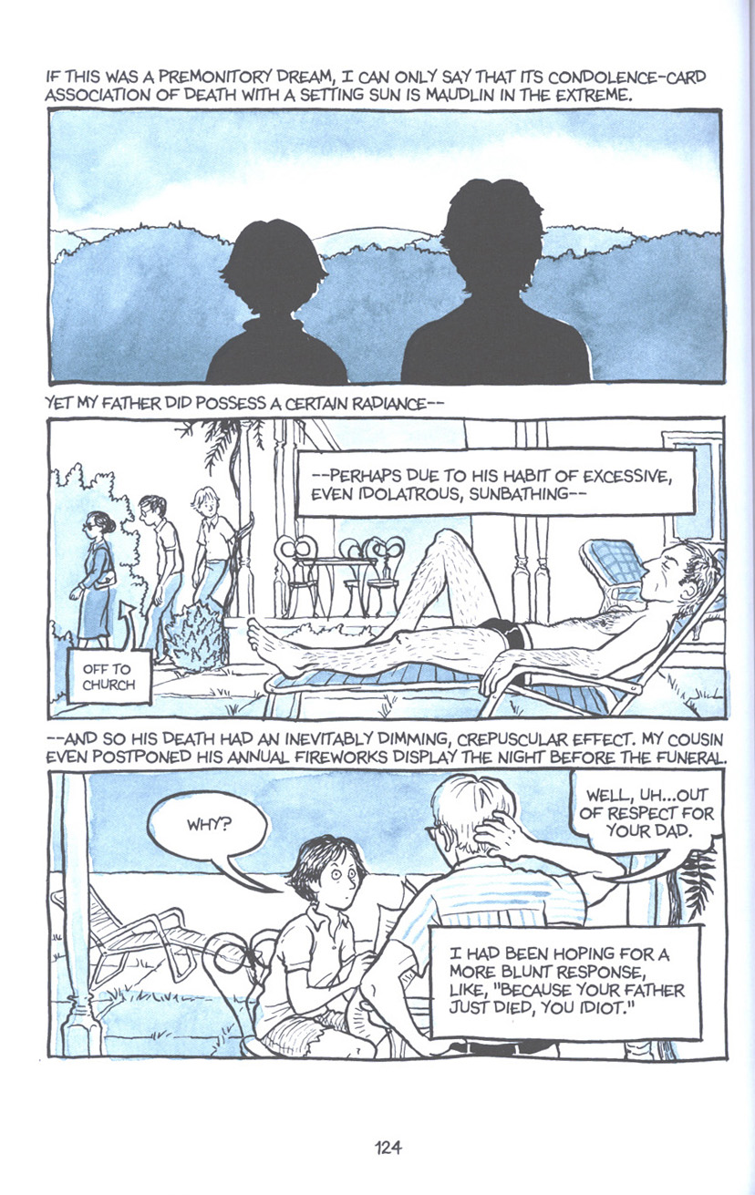 Read online Fun Home: A Family Tragicomic comic -  Issue # TPB - 130