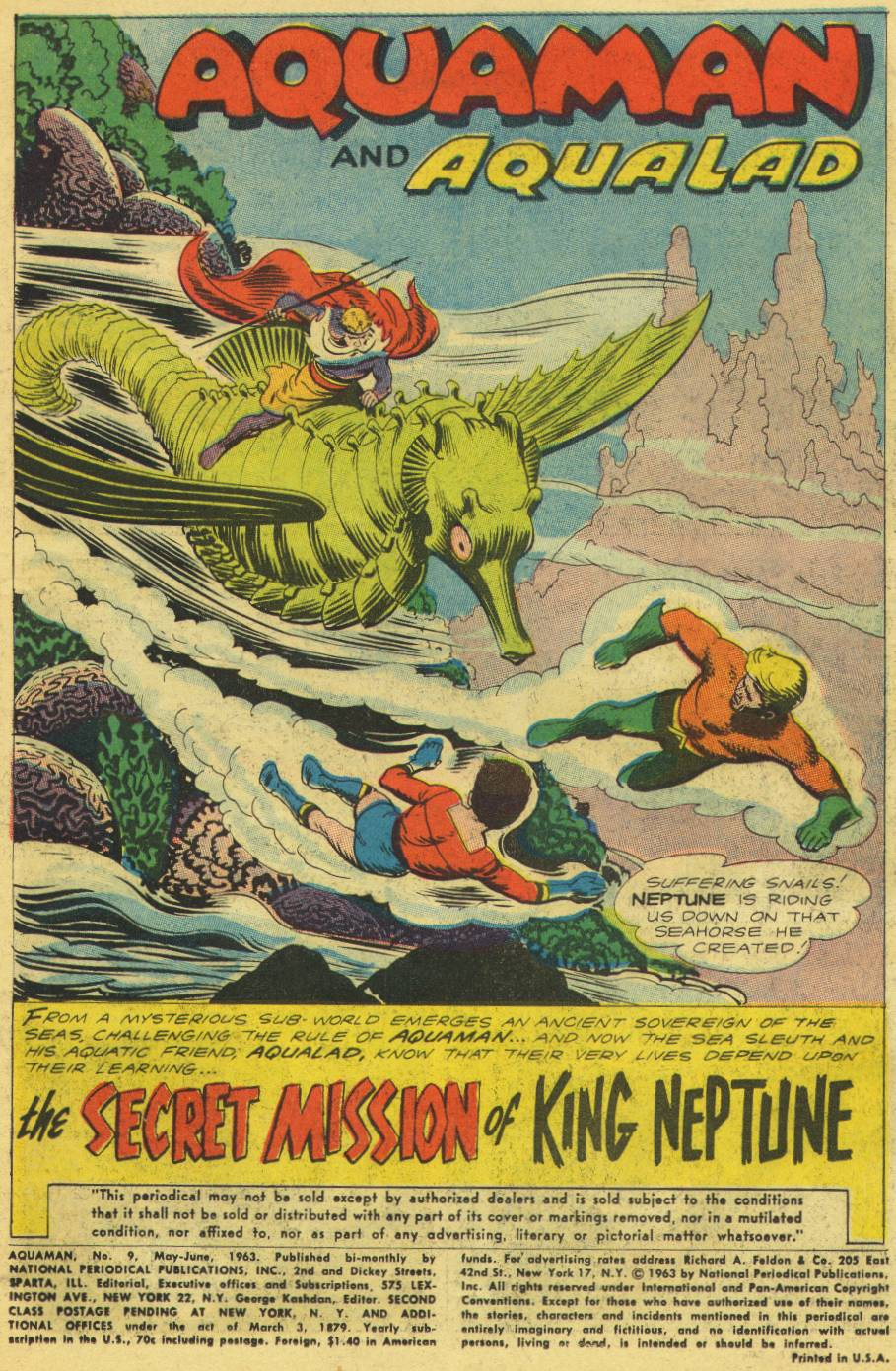 Read online Aquaman (1962) comic -  Issue #9 - 3