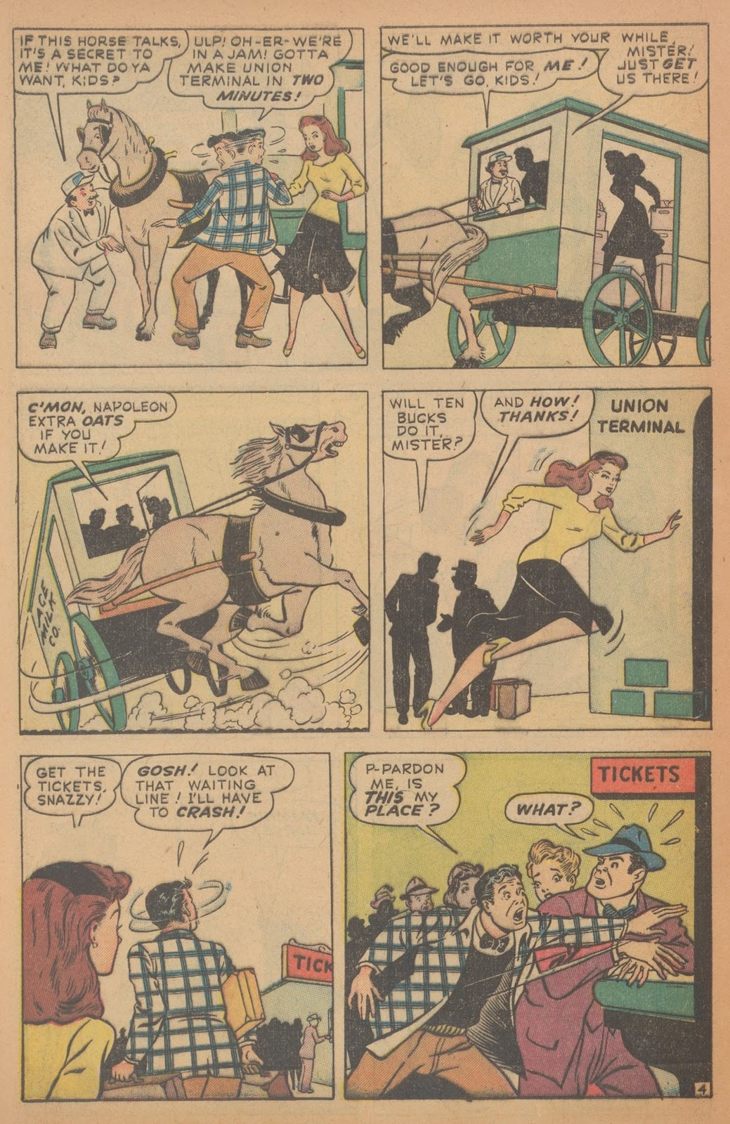 Read online Nellie The Nurse (1945) comic -  Issue #18 - 44