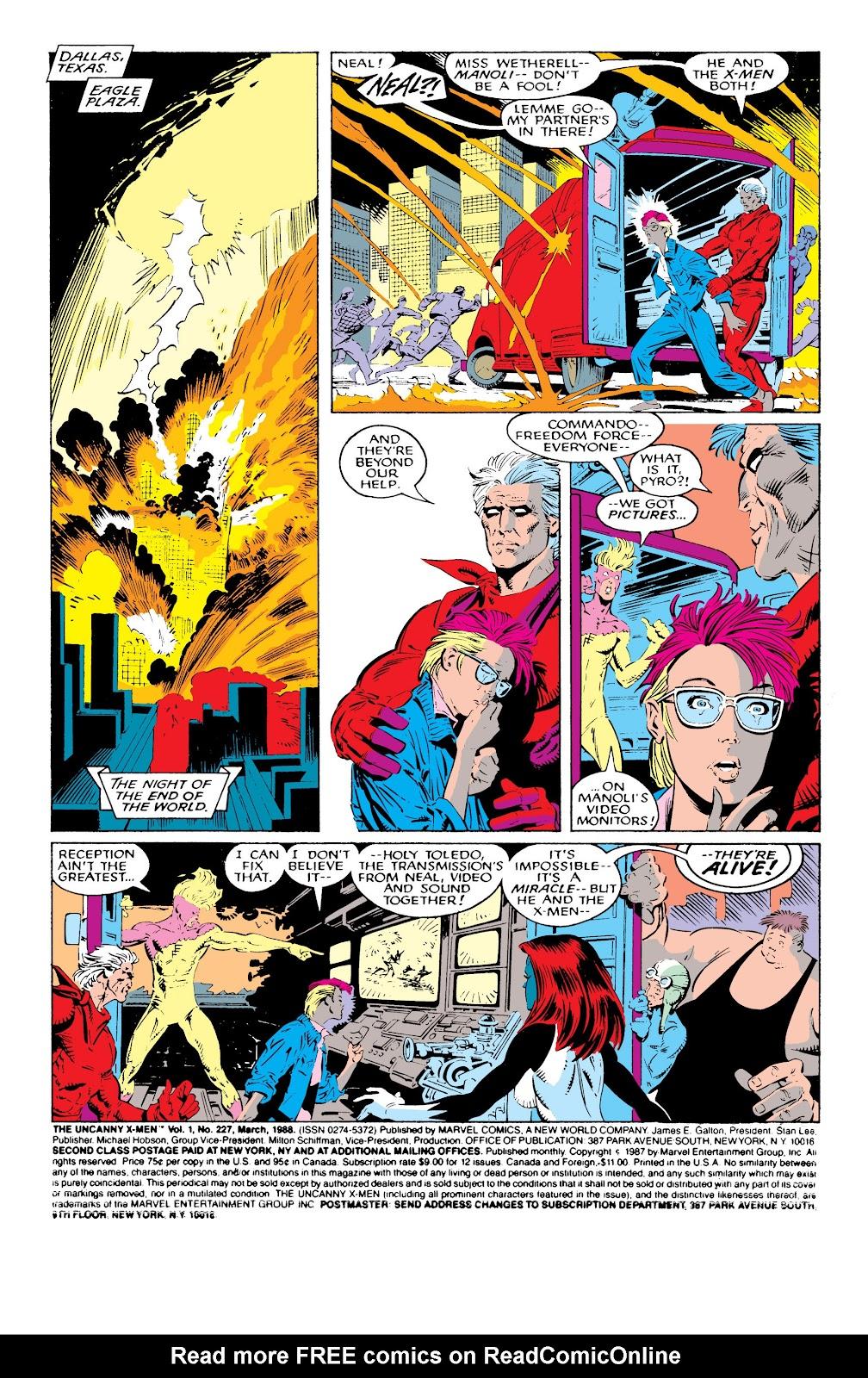 Uncanny X-Men (1963) issue 227 - Page 2