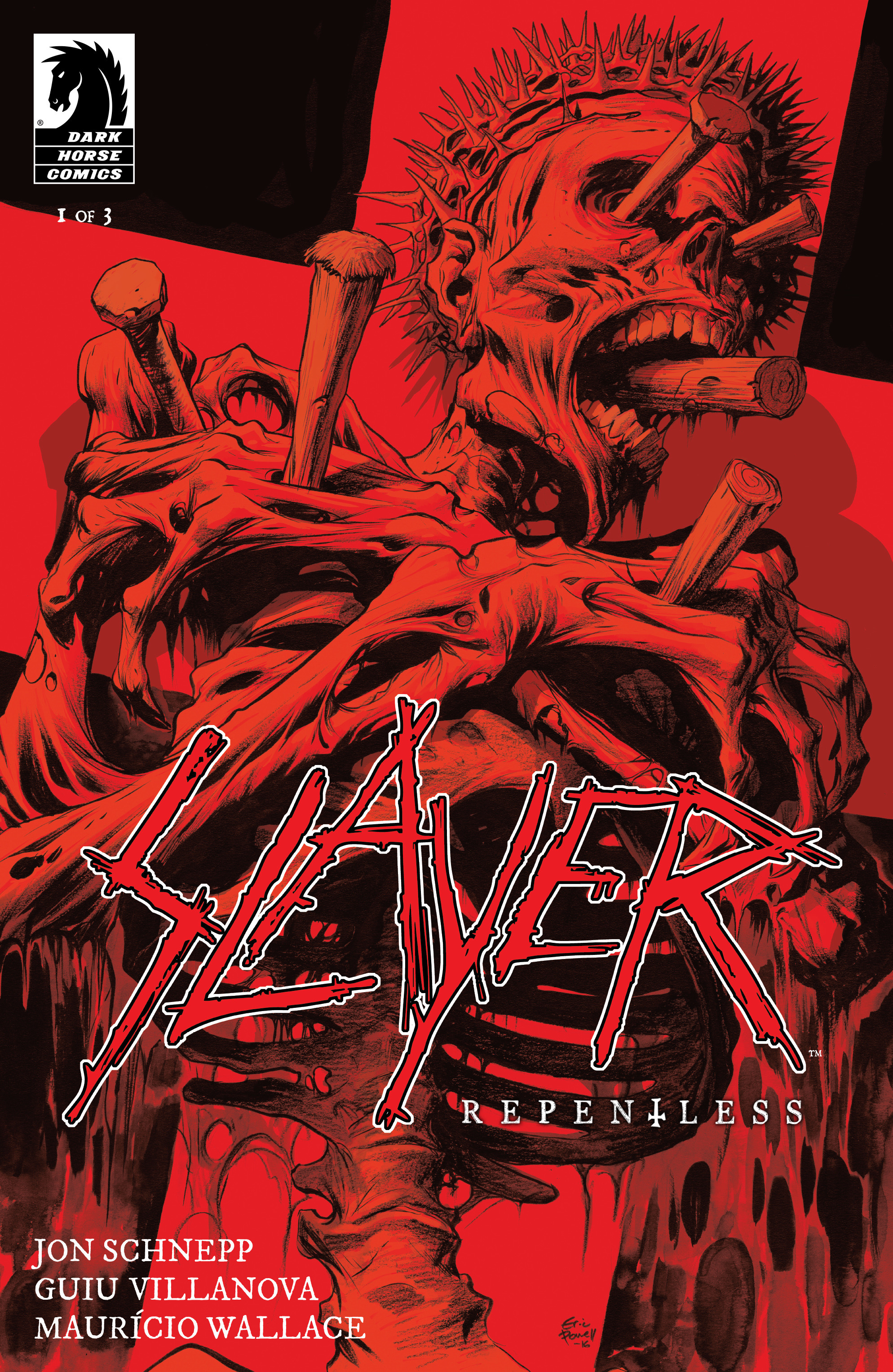 Read online Slayer: Repentless comic -  Issue #1 - 2