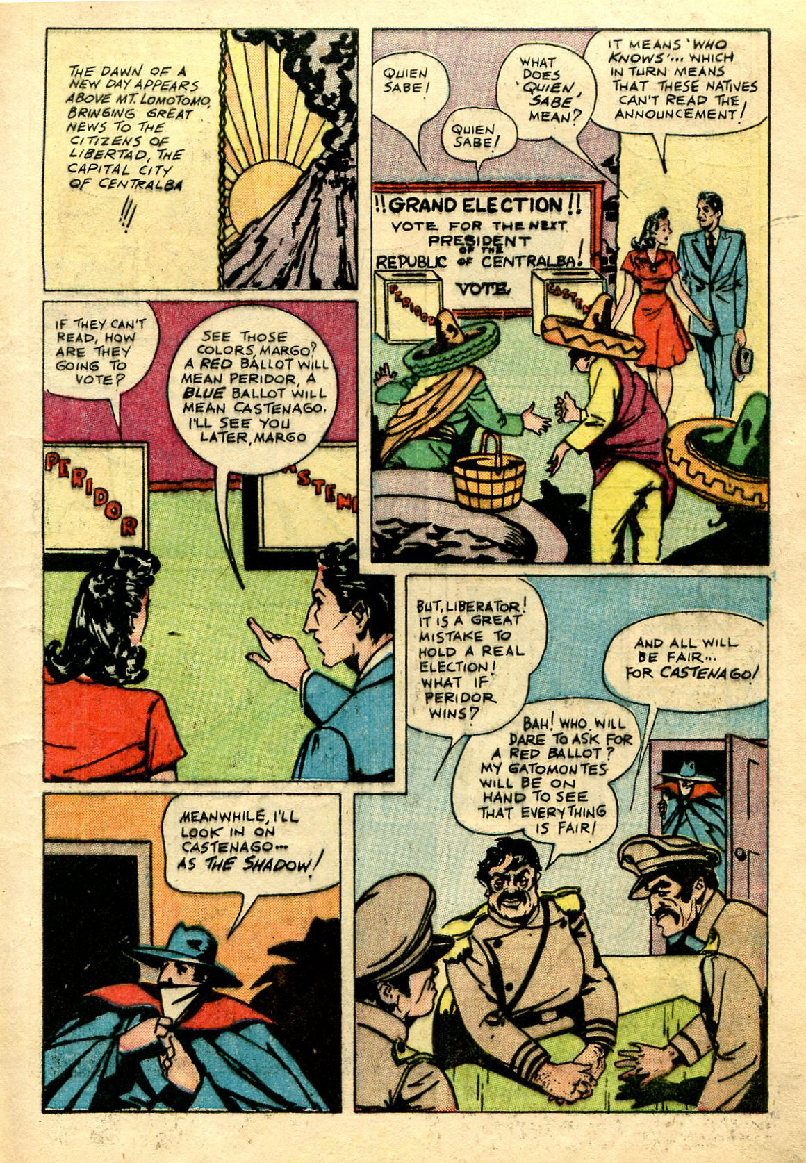 Read online Shadow Comics comic -  Issue #67 - 11